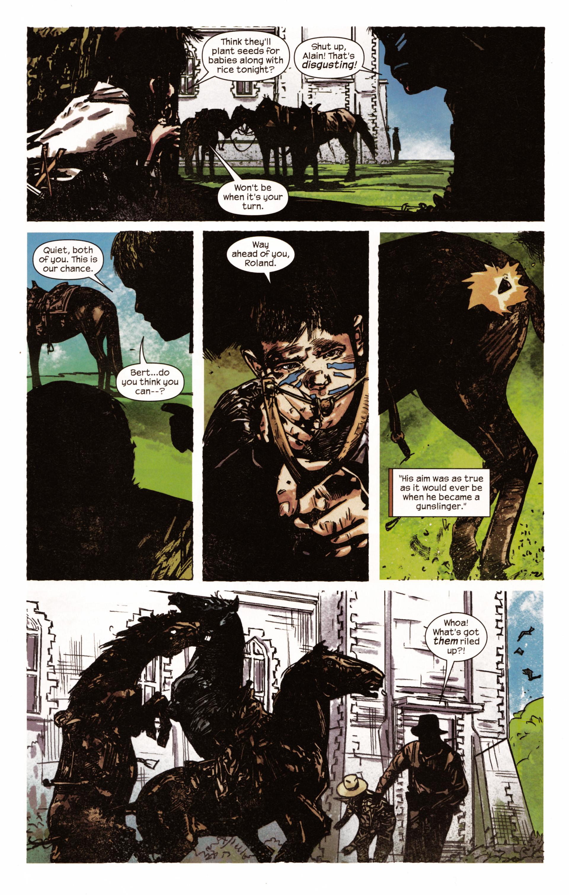 Read online Dark Tower: The Gunslinger - The Man in Black comic -  Issue #2 - 16