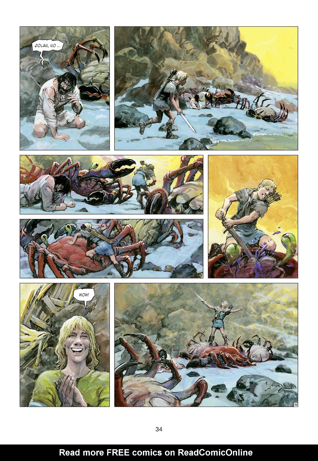 Read online Thorgal comic -  Issue #21 - 36