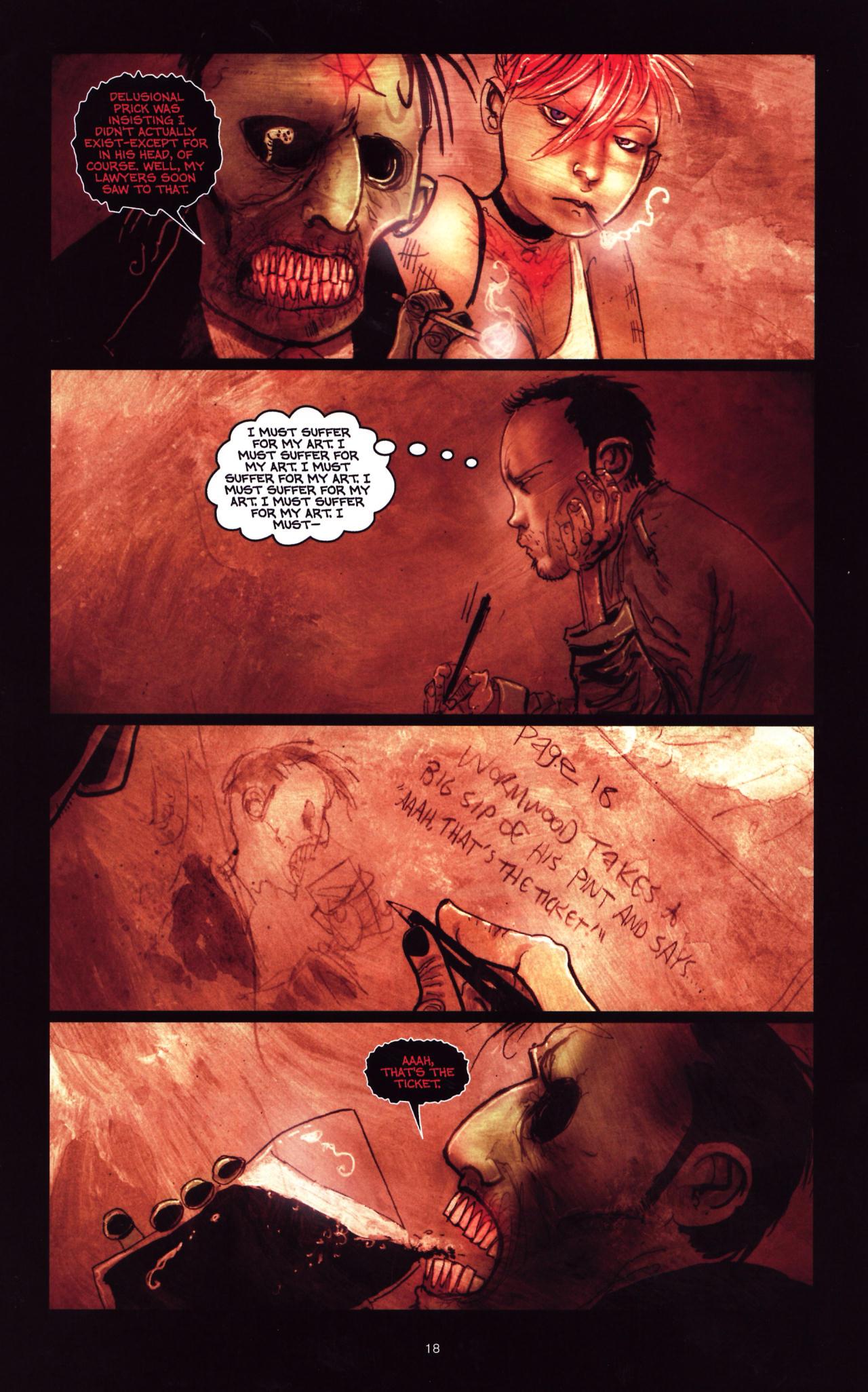 Read online Wormwood: Gentleman Corpse comic -  Issue #8 - 19
