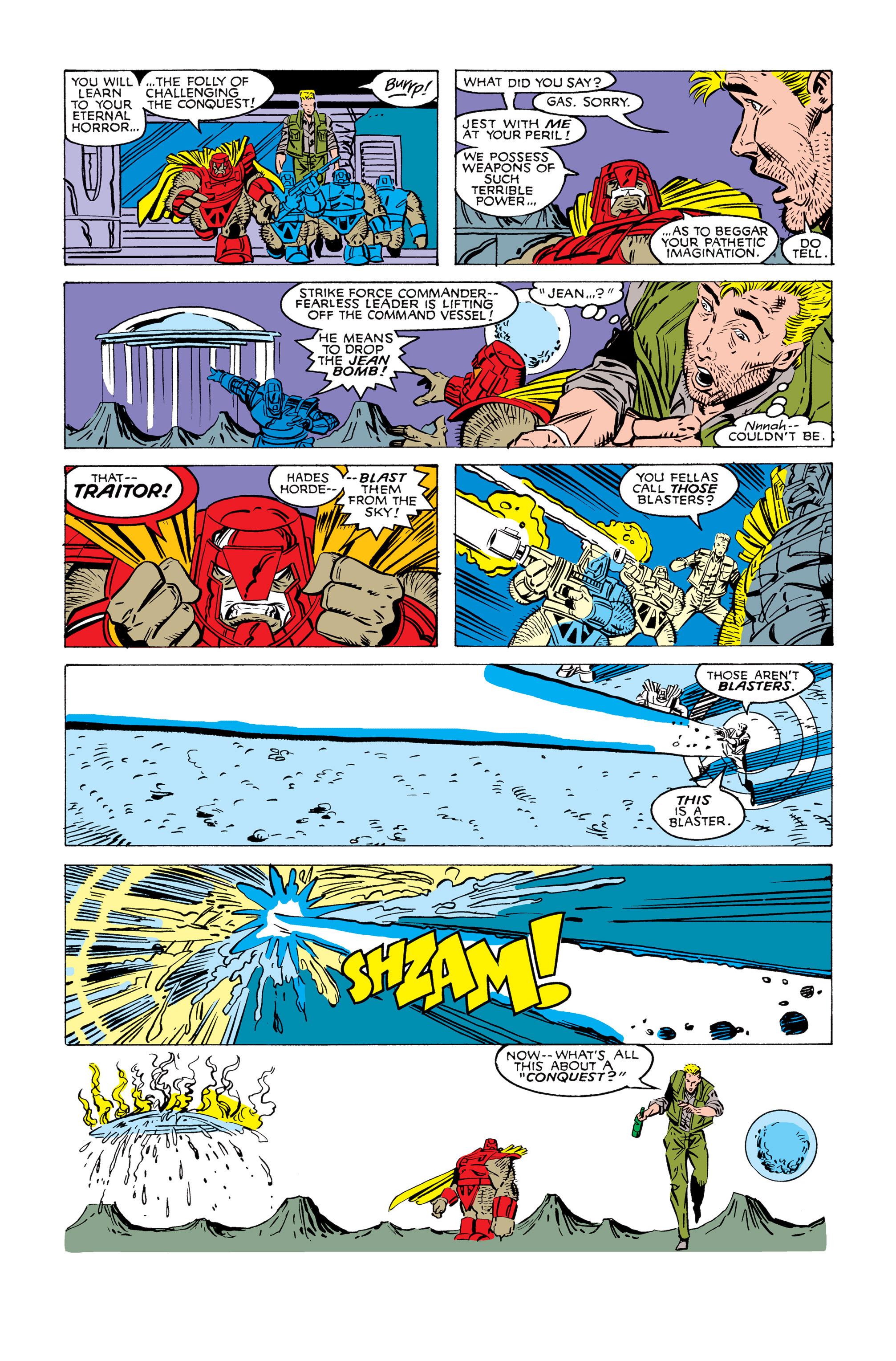 Read online Uncanny X-Men (1963) comic -  Issue #245 - 22