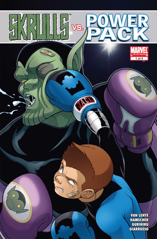 Read online Skrulls vs. Power Pack comic -  Issue #1 - 1
