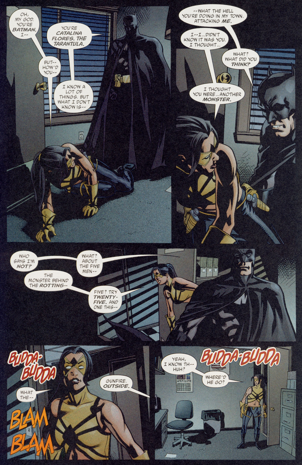 Read online Batman War Drums comic -  Issue # TPB - 116