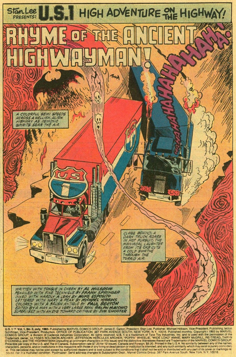 Read online U.S. 1 comic -  Issue #3 - 2