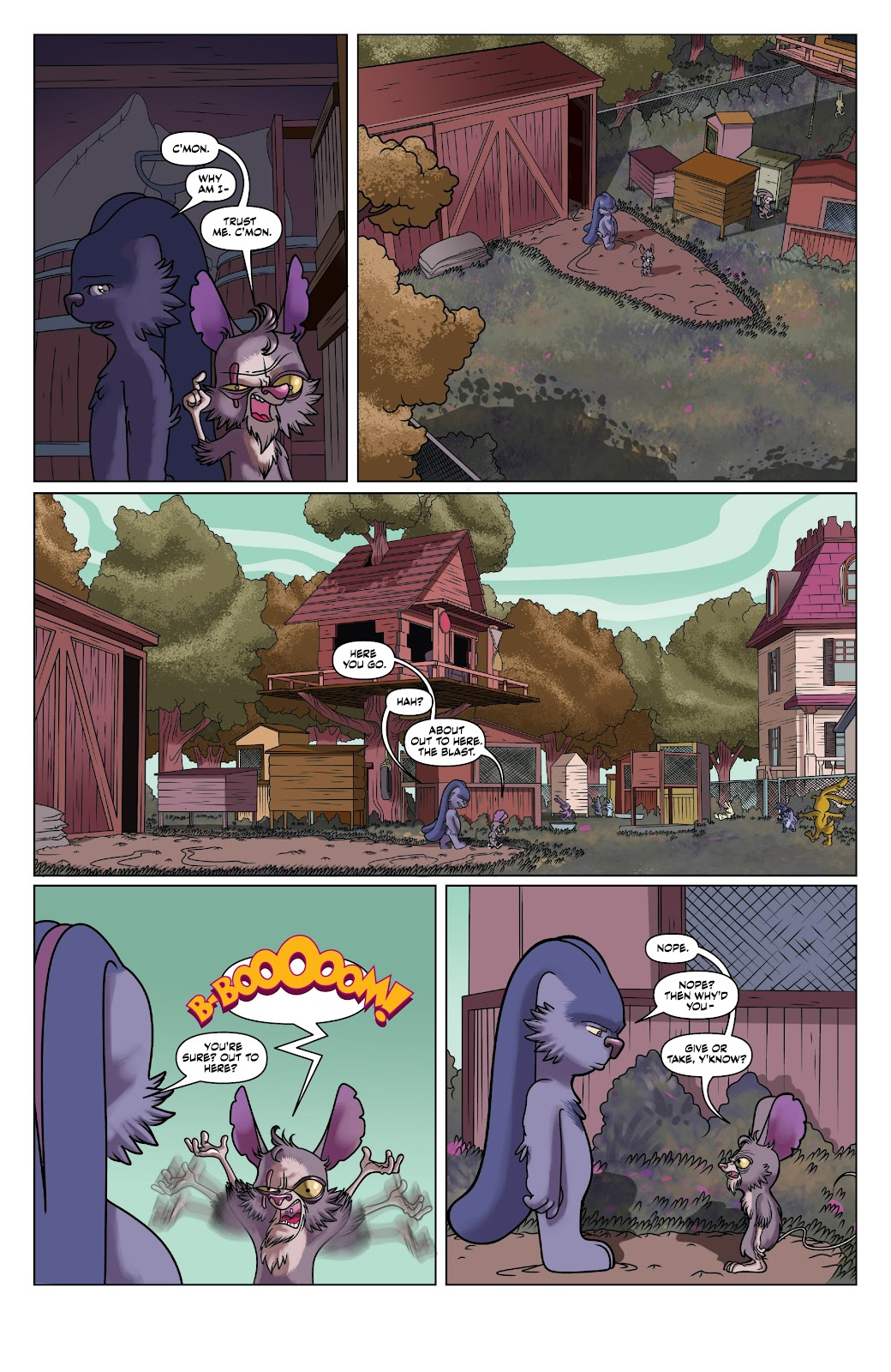 Read online Auntie Agatha's Home For Wayward Rabbits comic -  Issue #4 - 20