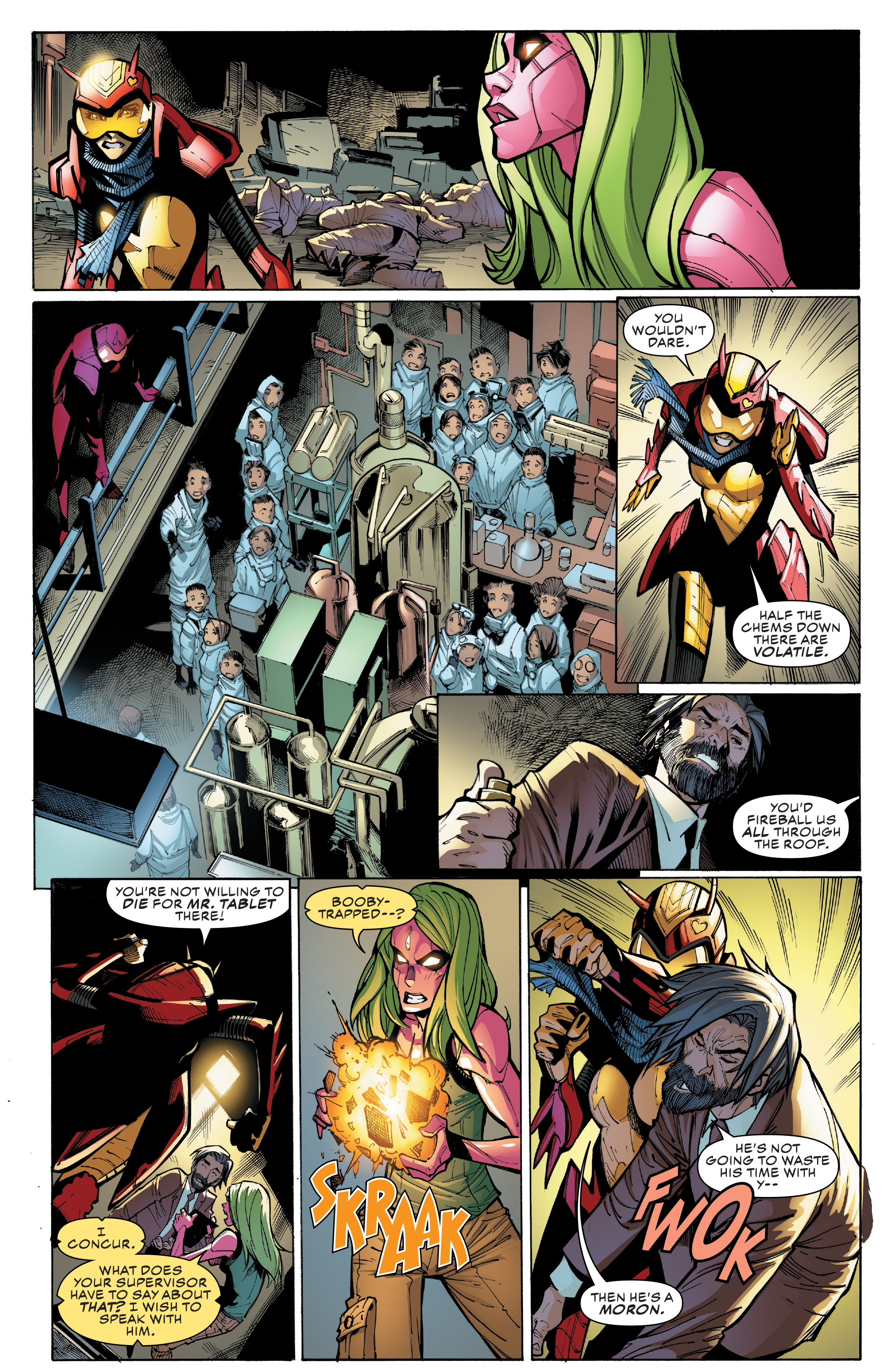 Read online Champions (2016) comic -  Issue #9 - 16