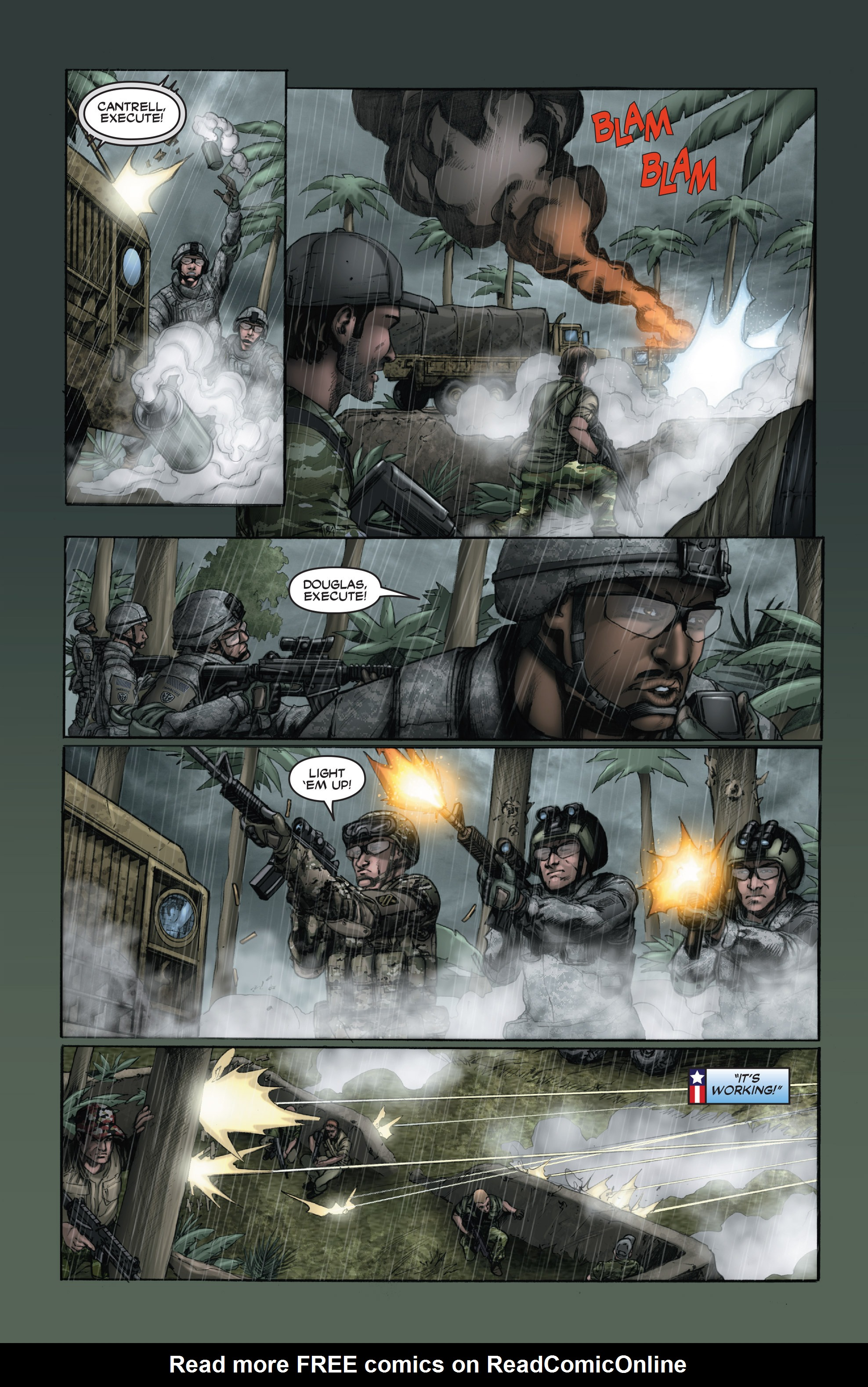 Read online America's Army comic -  Issue #15 - 18