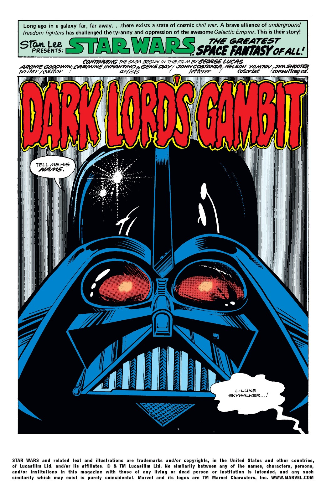 Read online Star Wars Legends: The Original Marvel Years - Epic Collection comic -  Issue # TPB 2 (Part 3) - 40