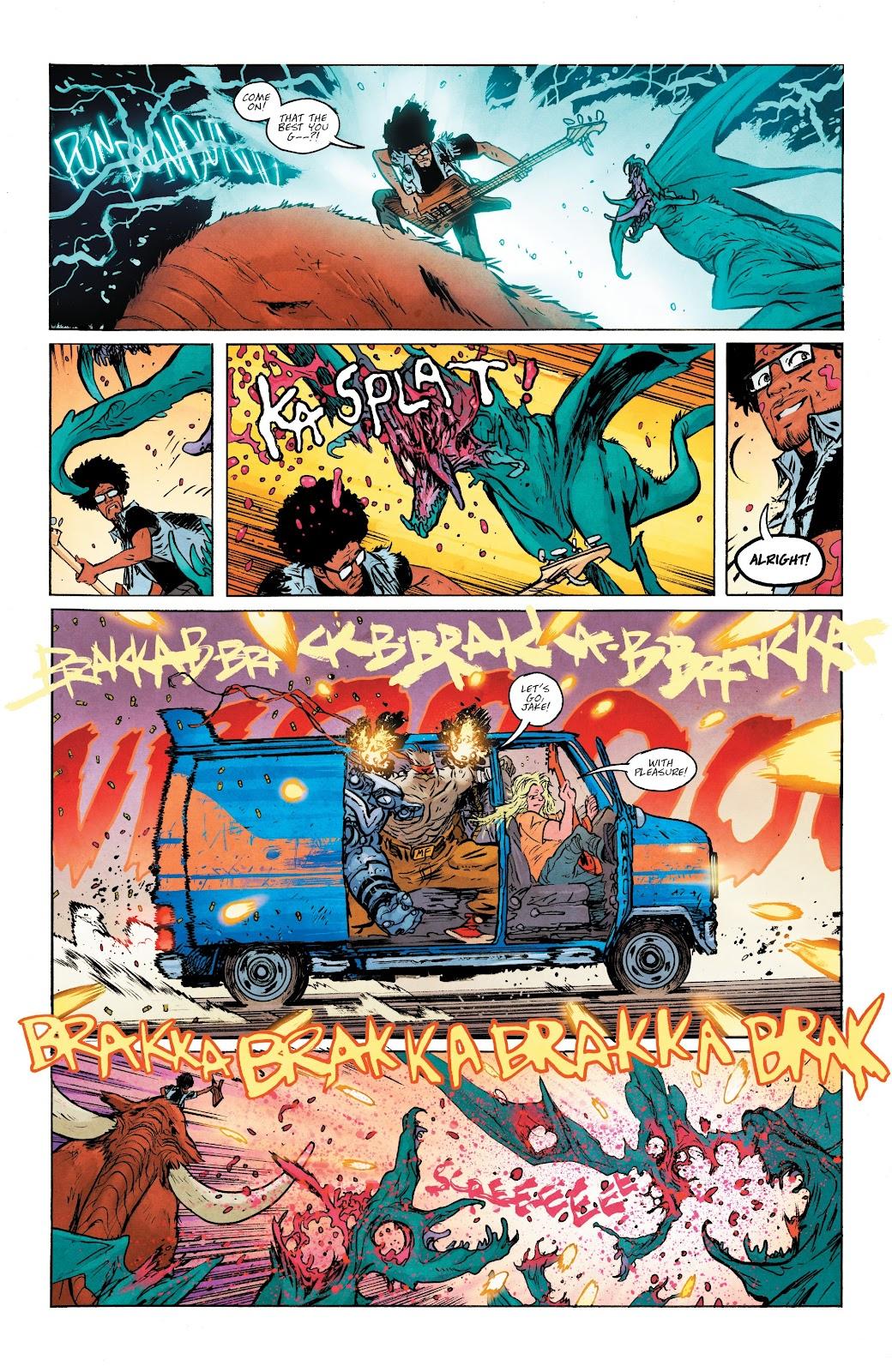 Read online Murder Falcon comic -  Issue #5 - 17