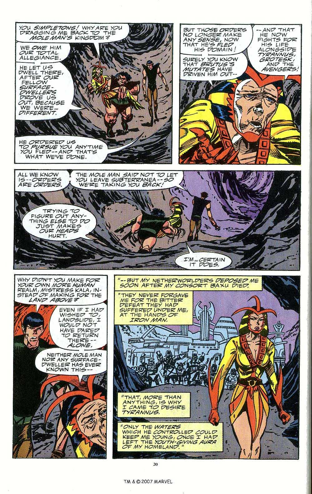 Iron Man Annual issue 12 - Page 22
