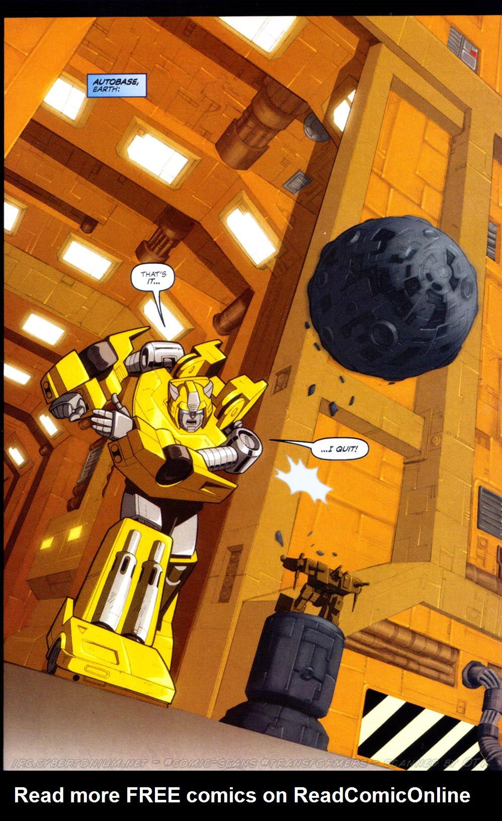 Read online Transformers Armada comic -  Issue #8 - 5