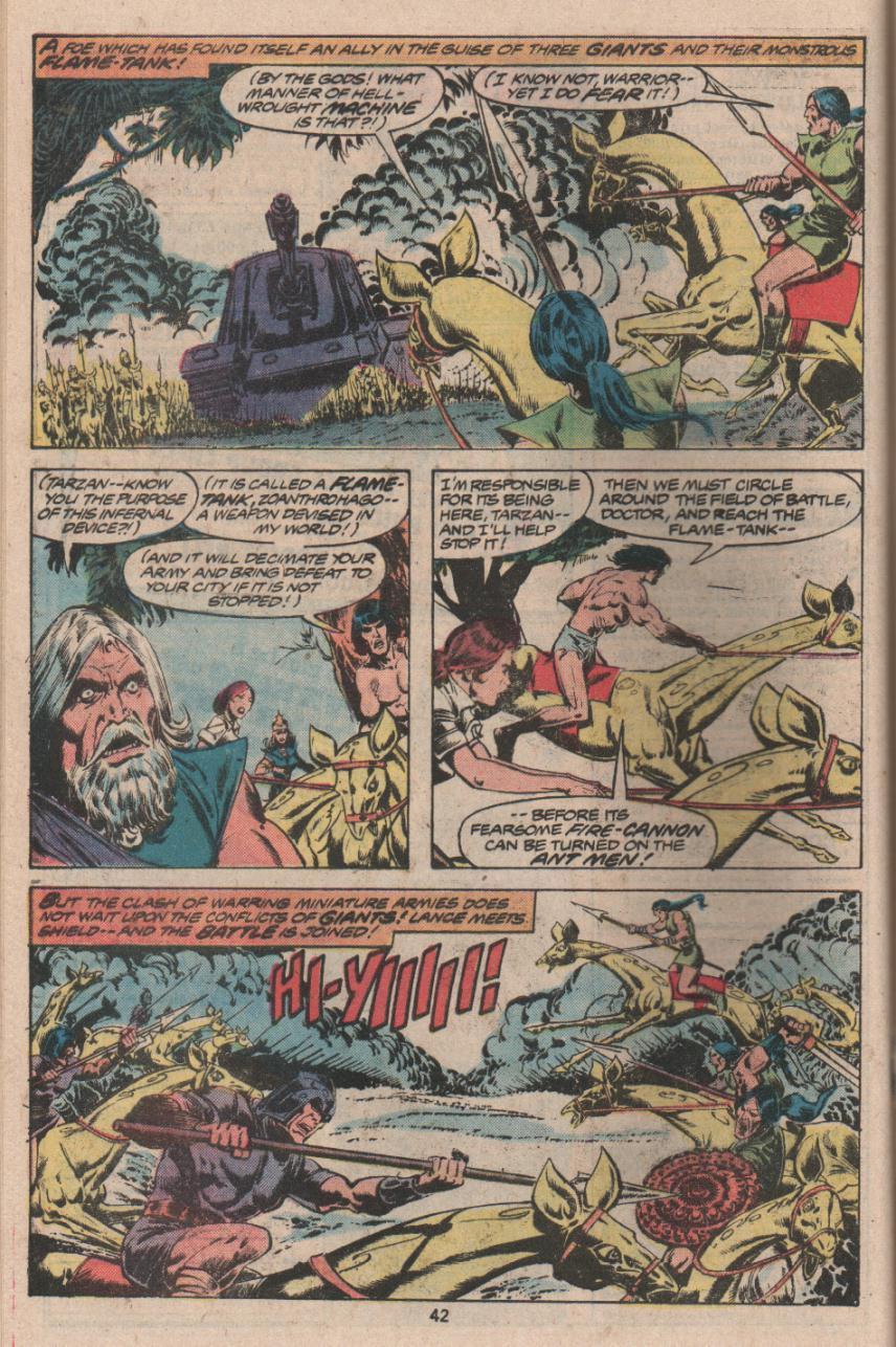 Read online Tarzan (1977) comic -  Issue # _Annual 3 - 31