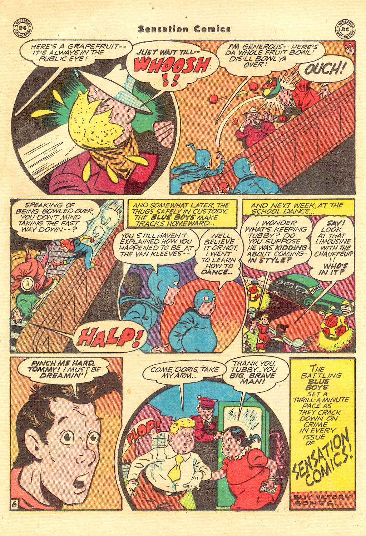 Read online Sensation (Mystery) Comics comic -  Issue #57 - 22