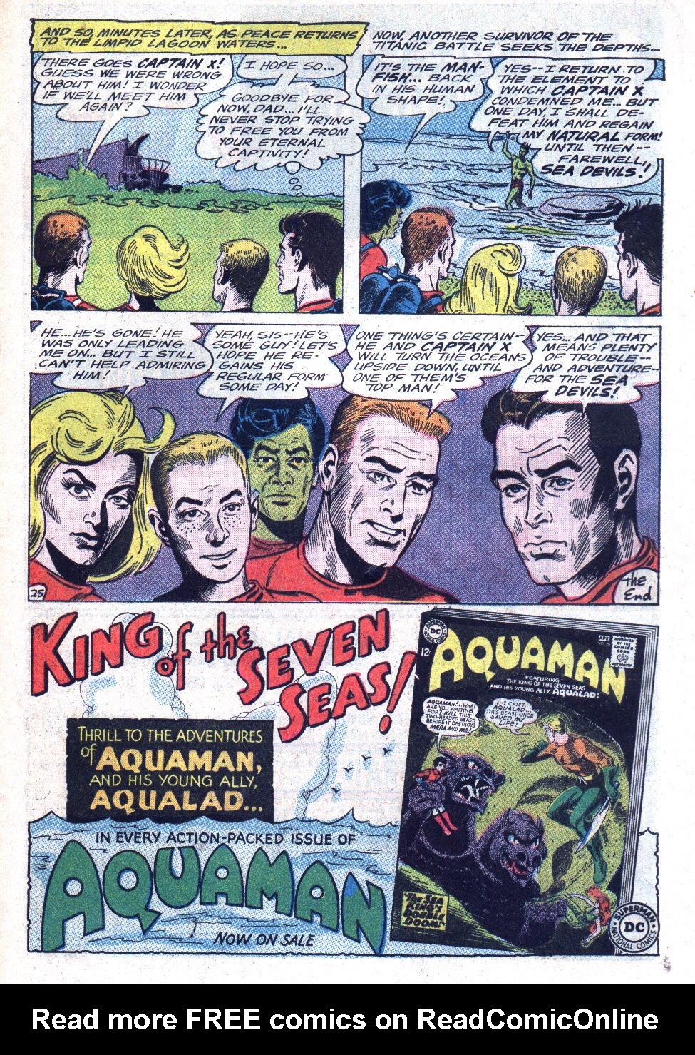 Read online Sea Devils comic -  Issue #22 - 33