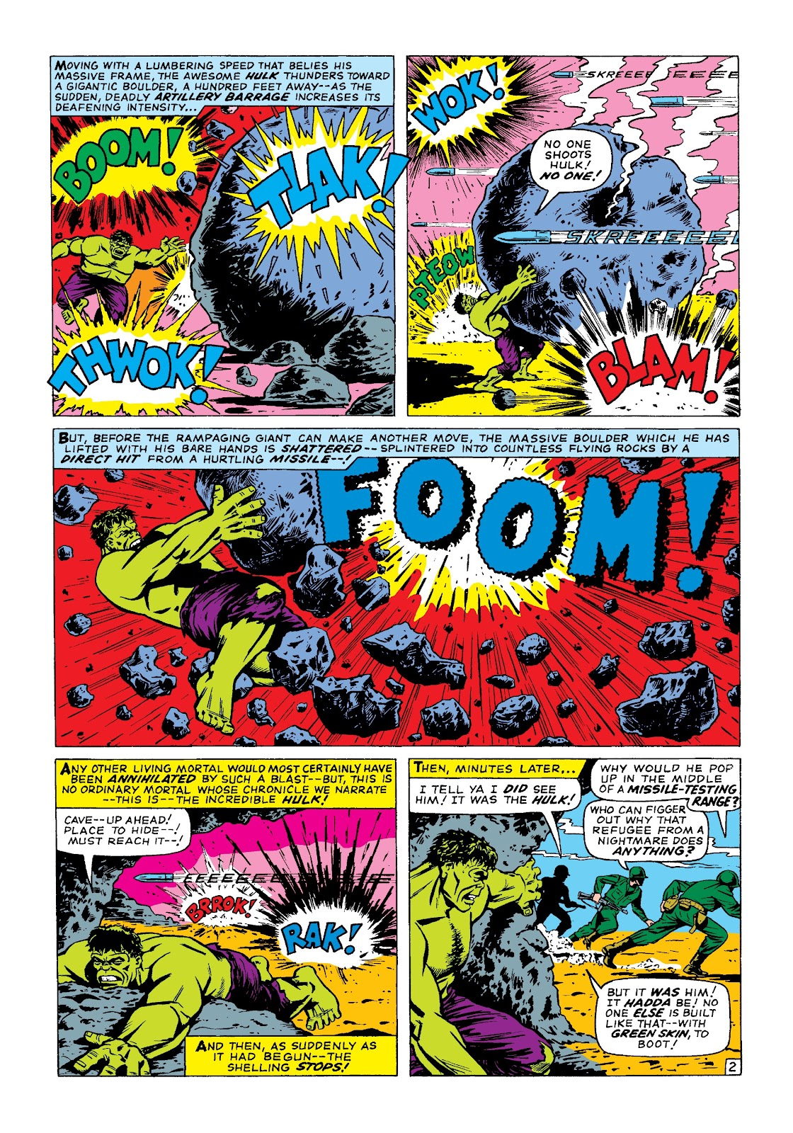 Read online Marvel Masterworks: The Incredible Hulk comic -  Issue # TPB 3 (Part 1) - 31
