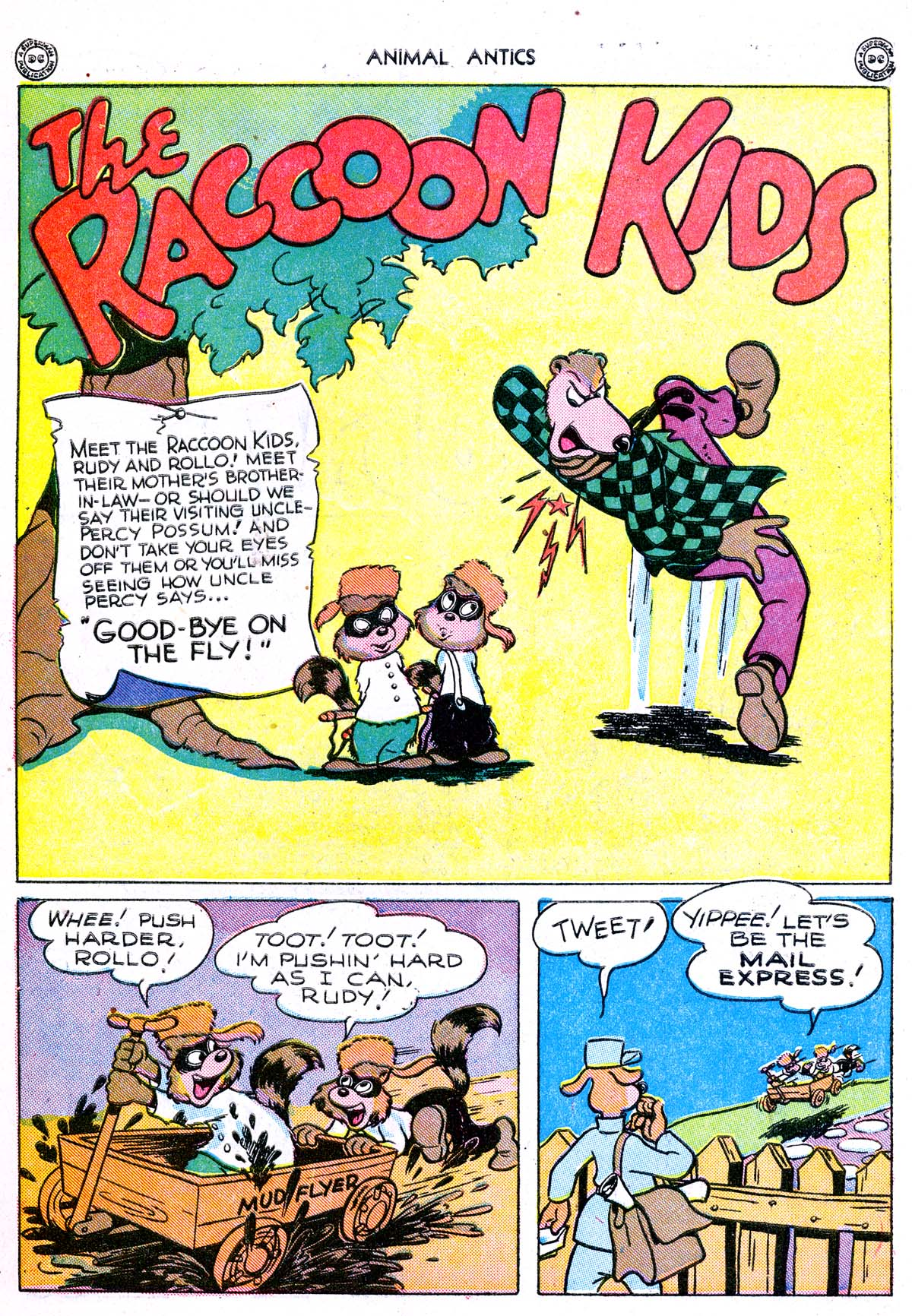 Read online Animal Antics comic -  Issue #1 - 44