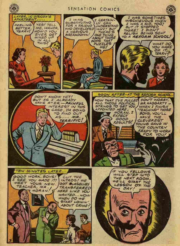 Read online Sensation (Mystery) Comics comic -  Issue #42 - 37