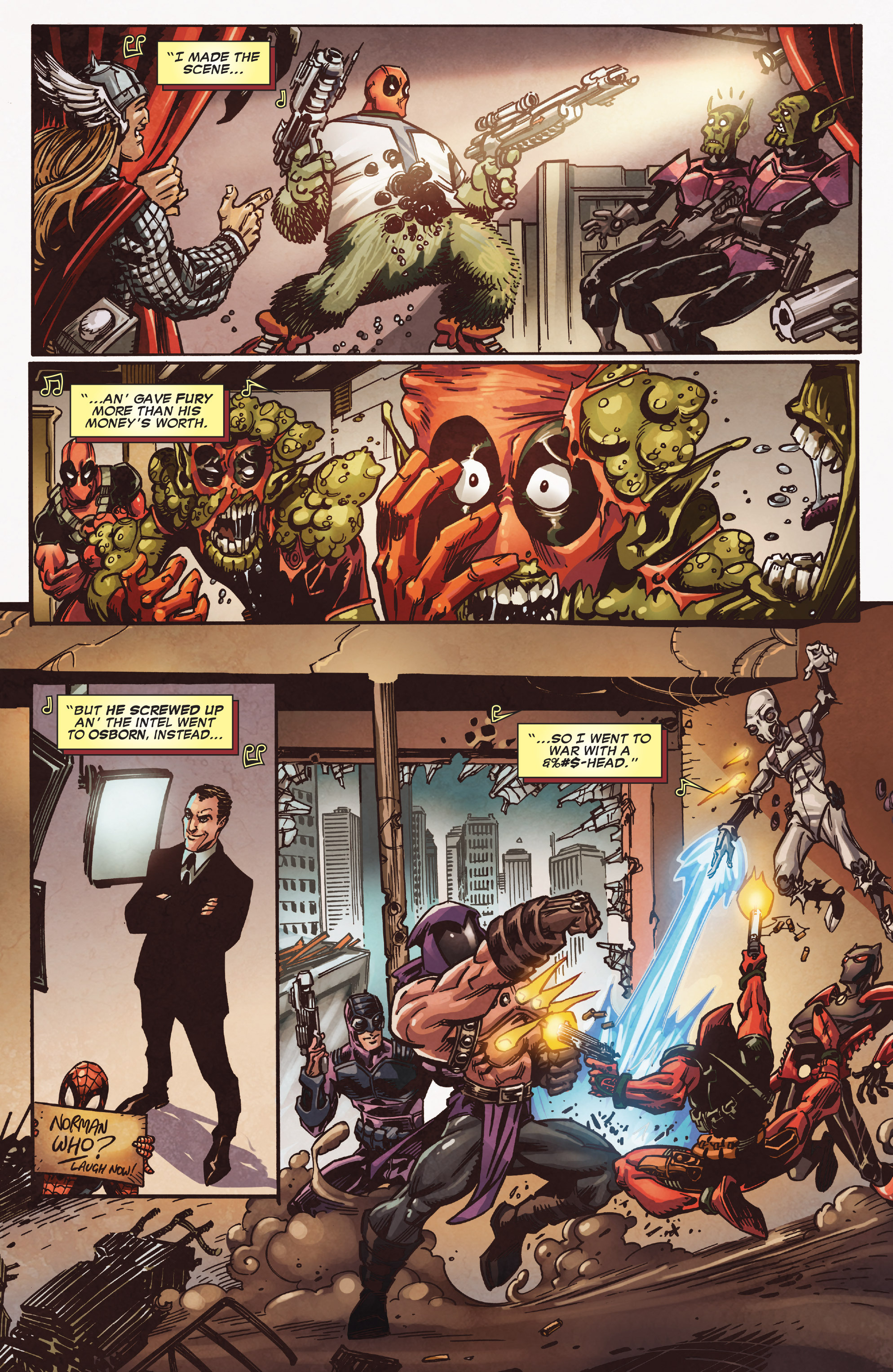 Read online True Believers: Deadpool the Musical comic -  Issue # Full - 9