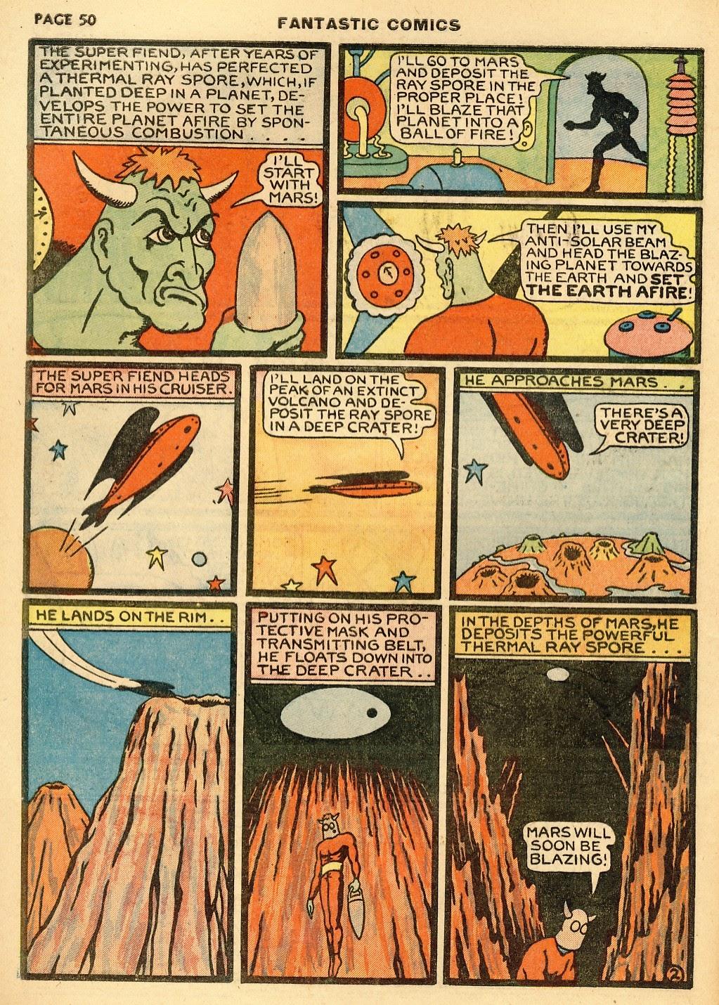 Read online Fantastic Comics comic -  Issue #10 - 51