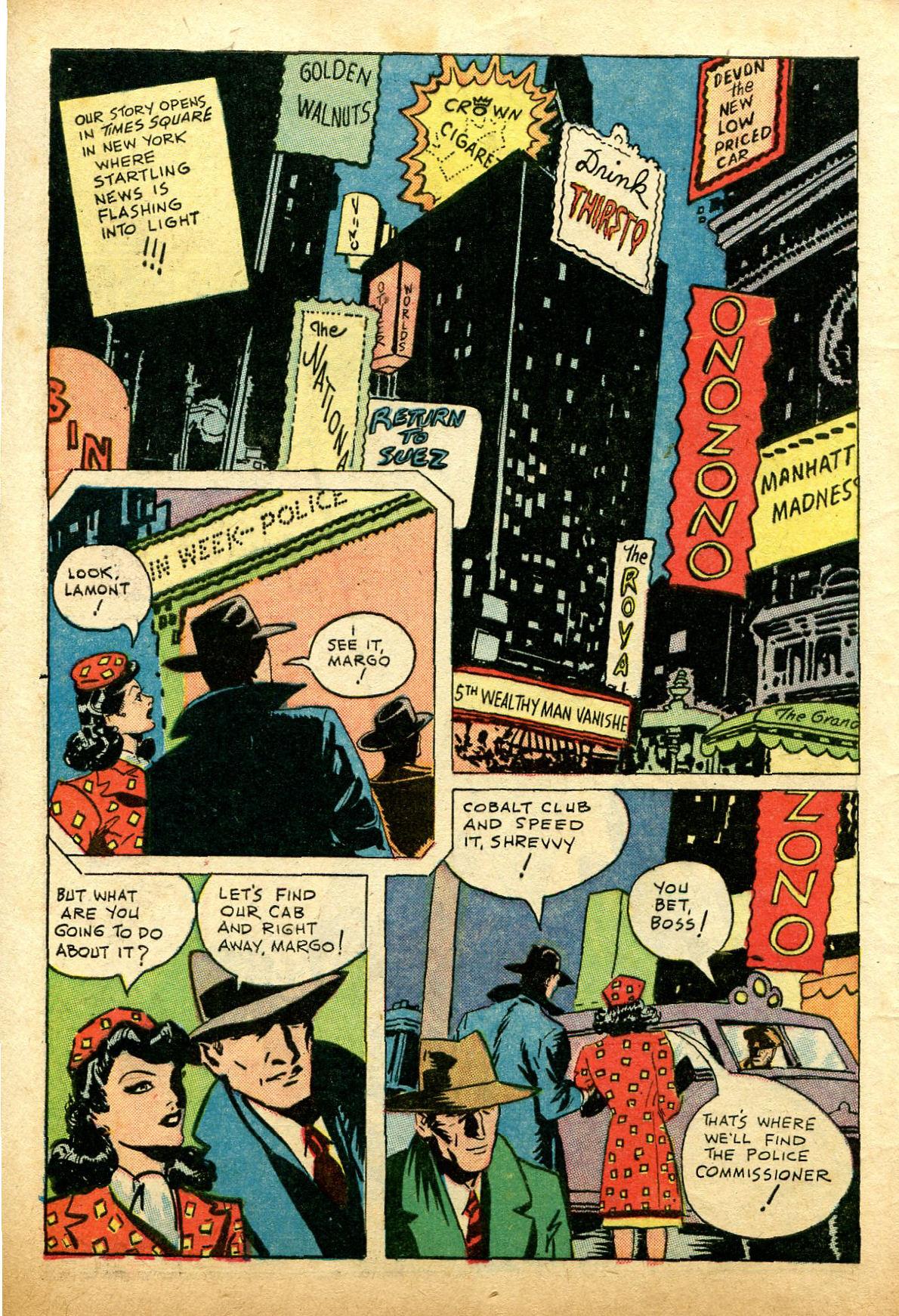 Read online Shadow Comics comic -  Issue #74 - 4