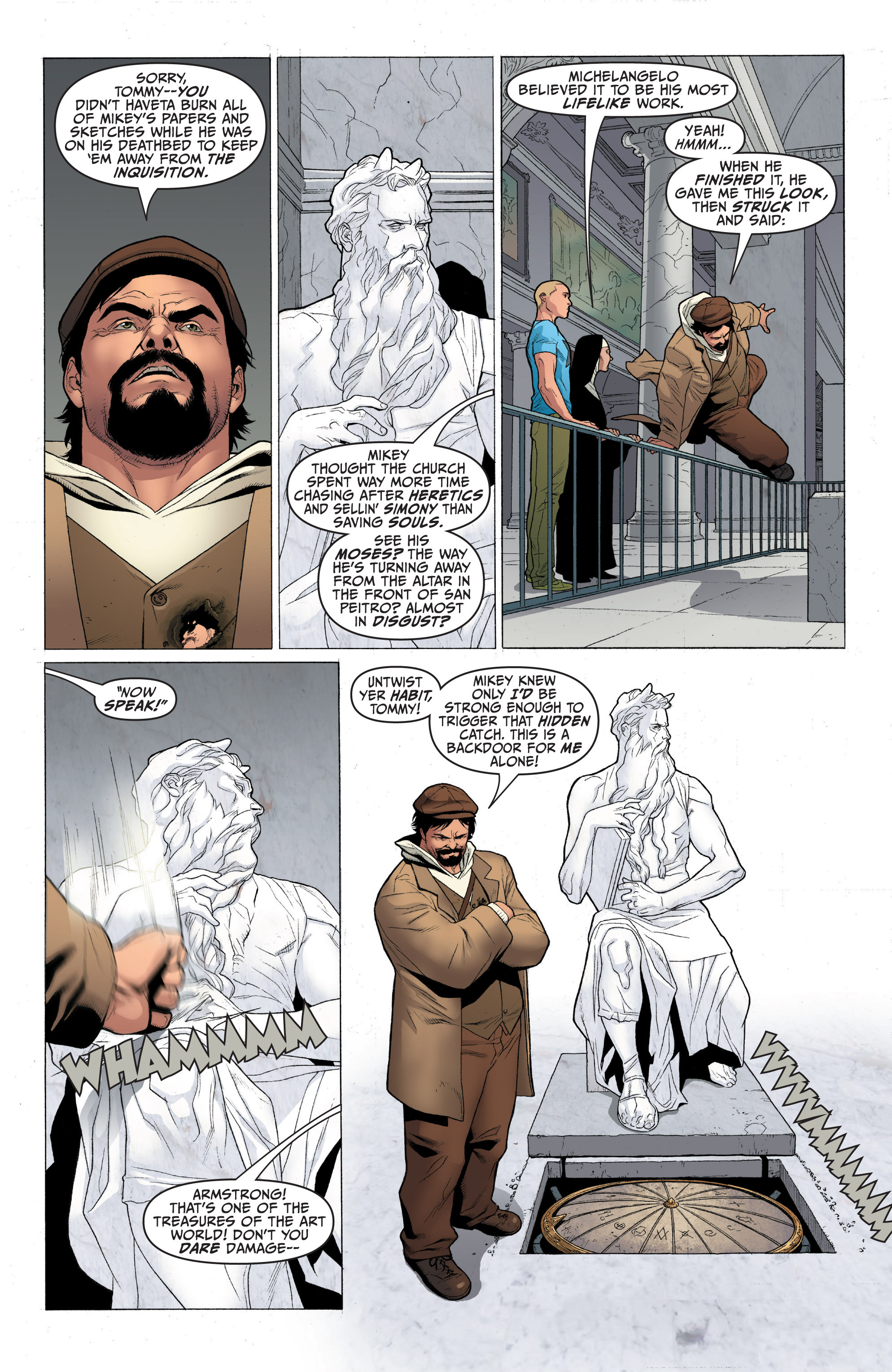 Read online Archer and Armstrong comic -  Issue #Archer and Armstrong _TPB 1 - 46