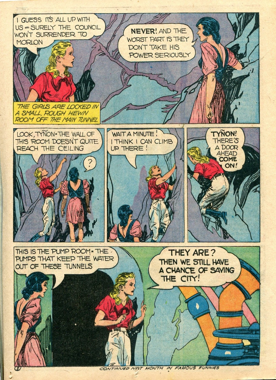 Read online Famous Funnies comic -  Issue #112 - 33