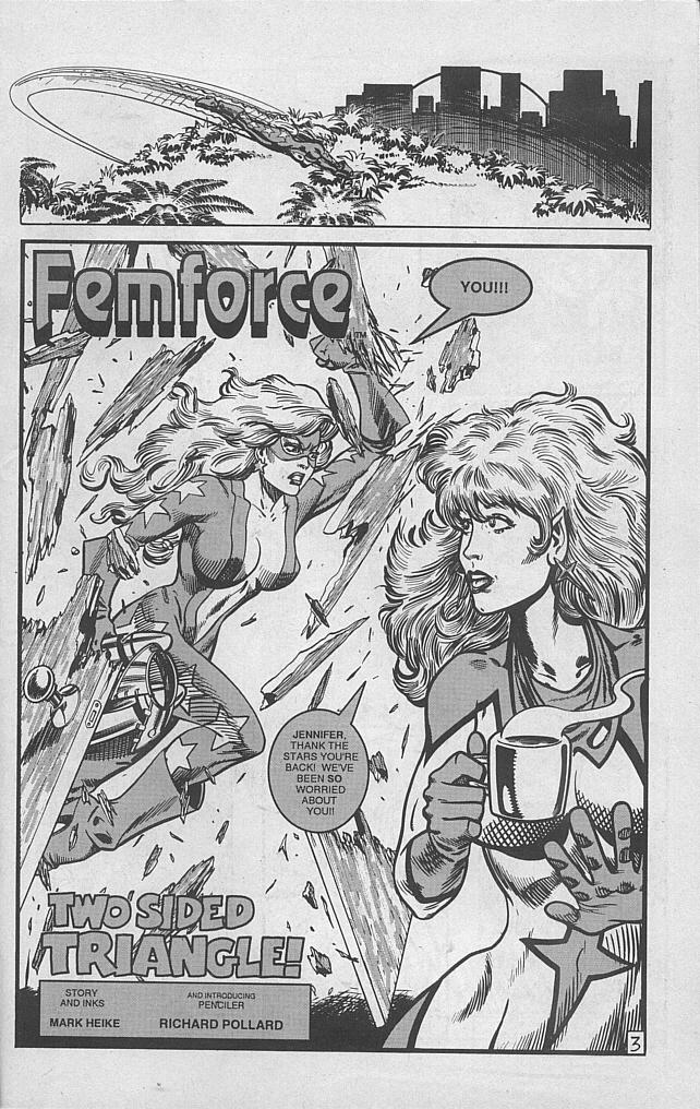 Femforce Issue #53 #53 - English 26