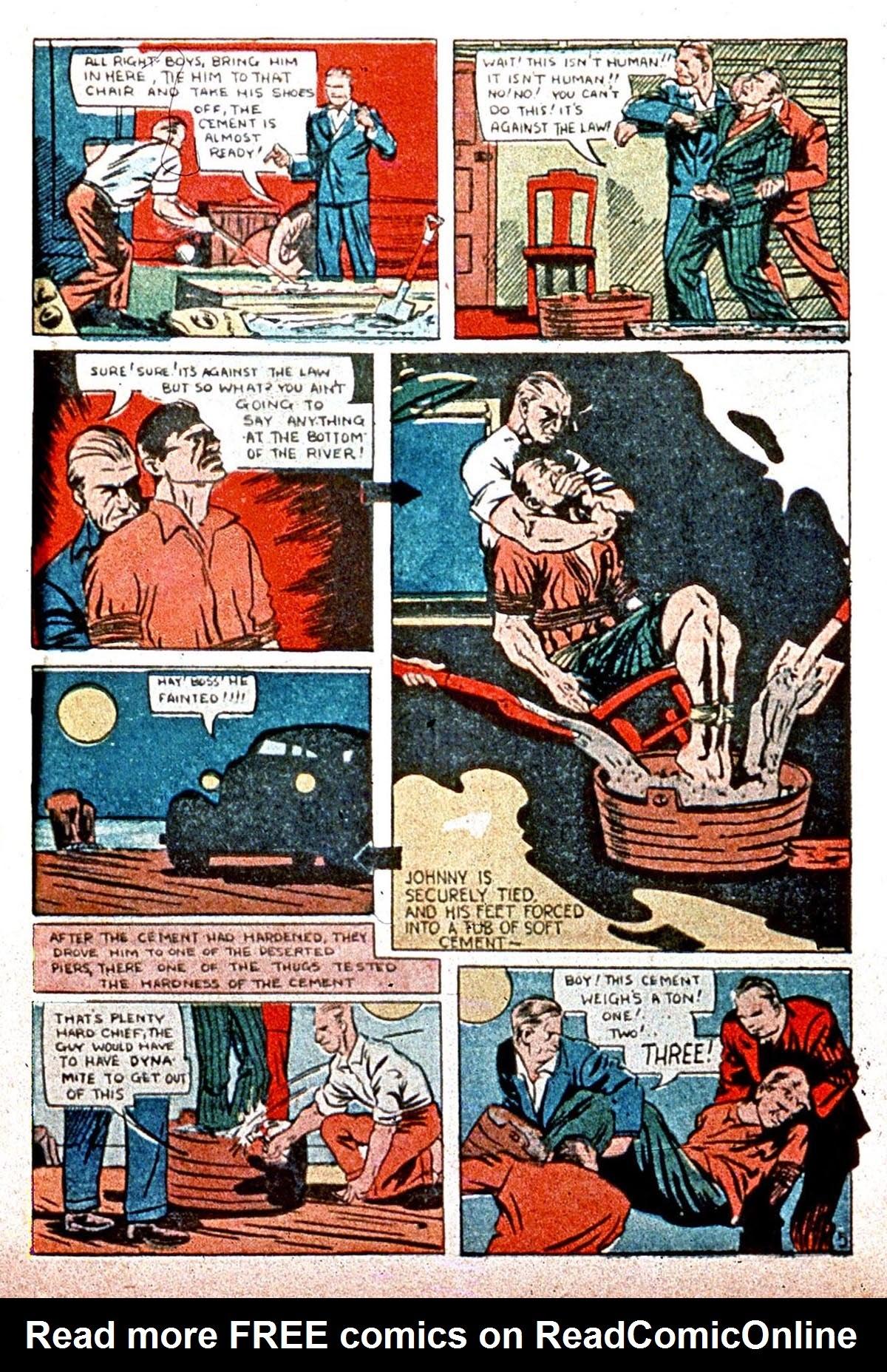 Read online Amazing Man Comics comic -  Issue #8 - 63