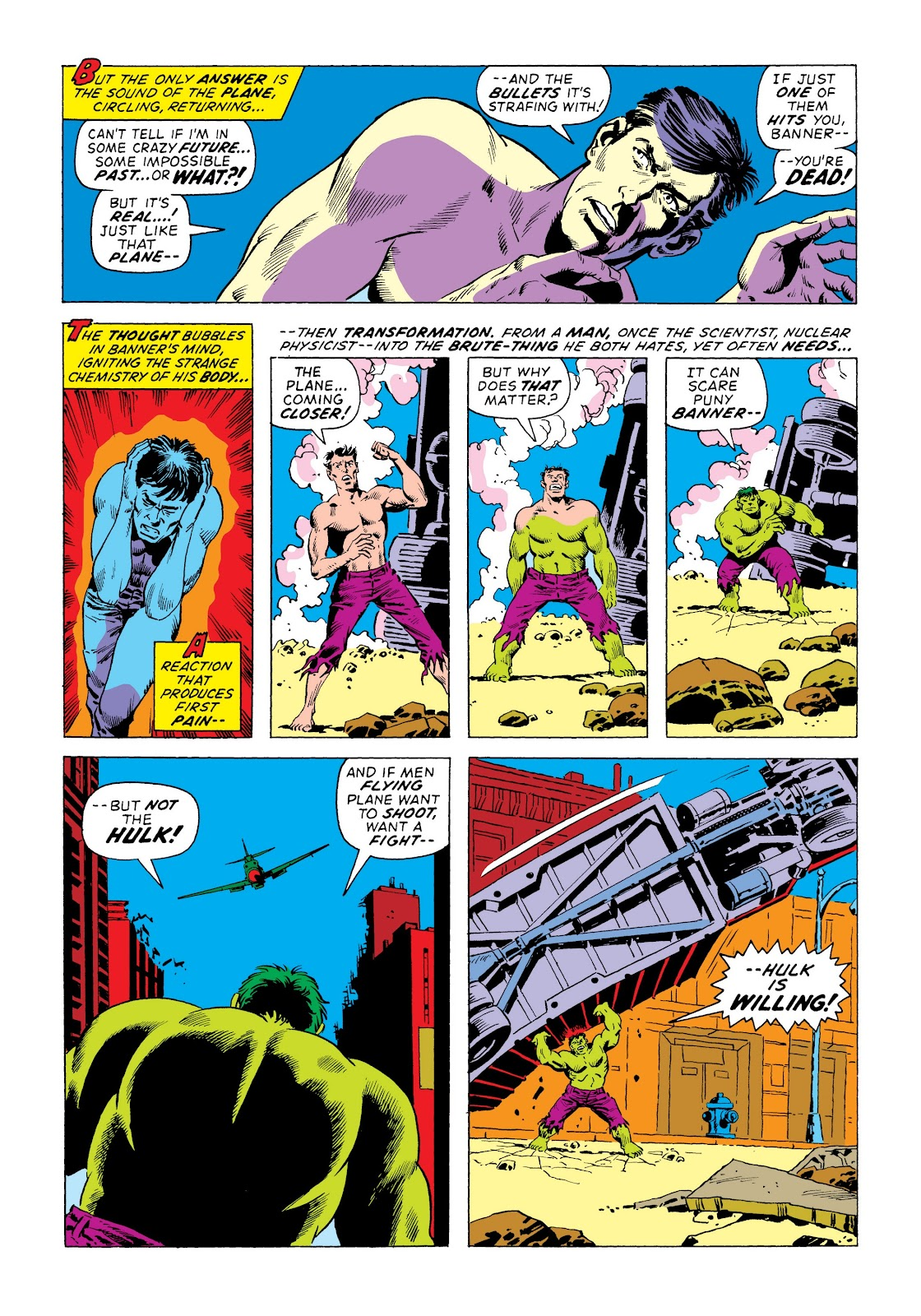 Read online Marvel Masterworks: The Incredible Hulk comic -  Issue # TPB 8 (Part 3) - 44