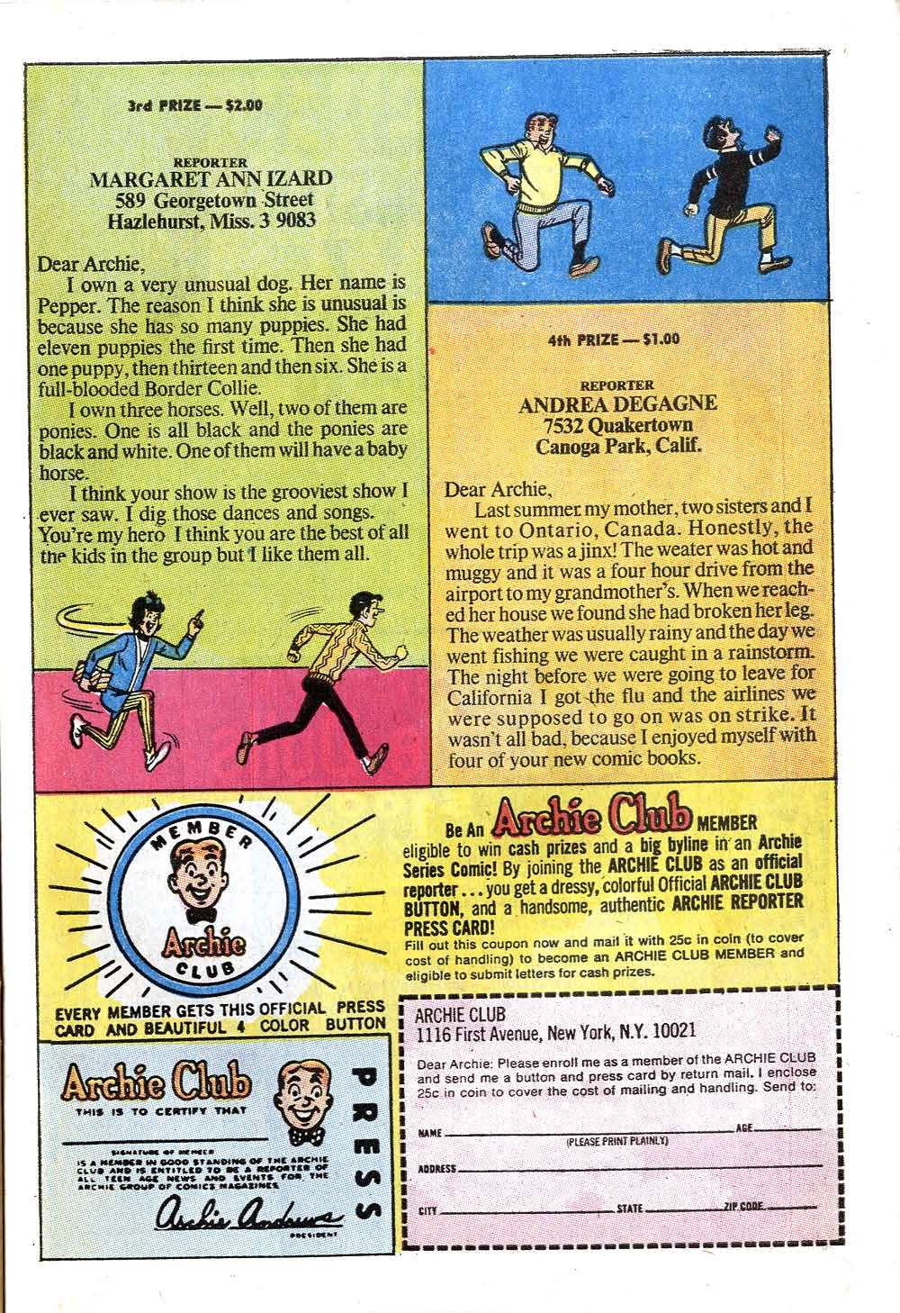 Read online Archie (1960) comic -  Issue #201 - 27