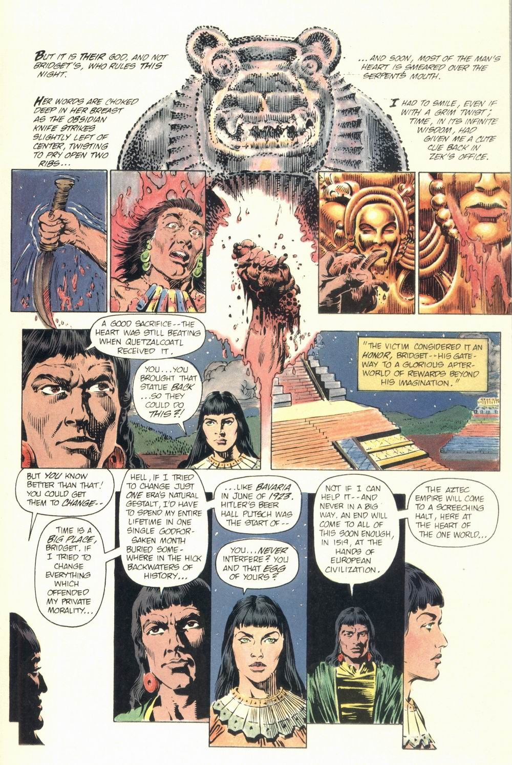 Read online Aztec Ace comic -  Issue #1 - 21