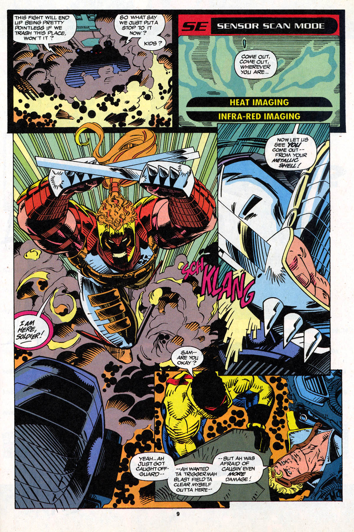 Read online X-Force (1991) comic -  Issue #21 - 10