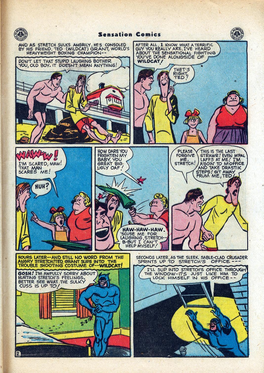 Read online Sensation (Mystery) Comics comic -  Issue #45 - 43