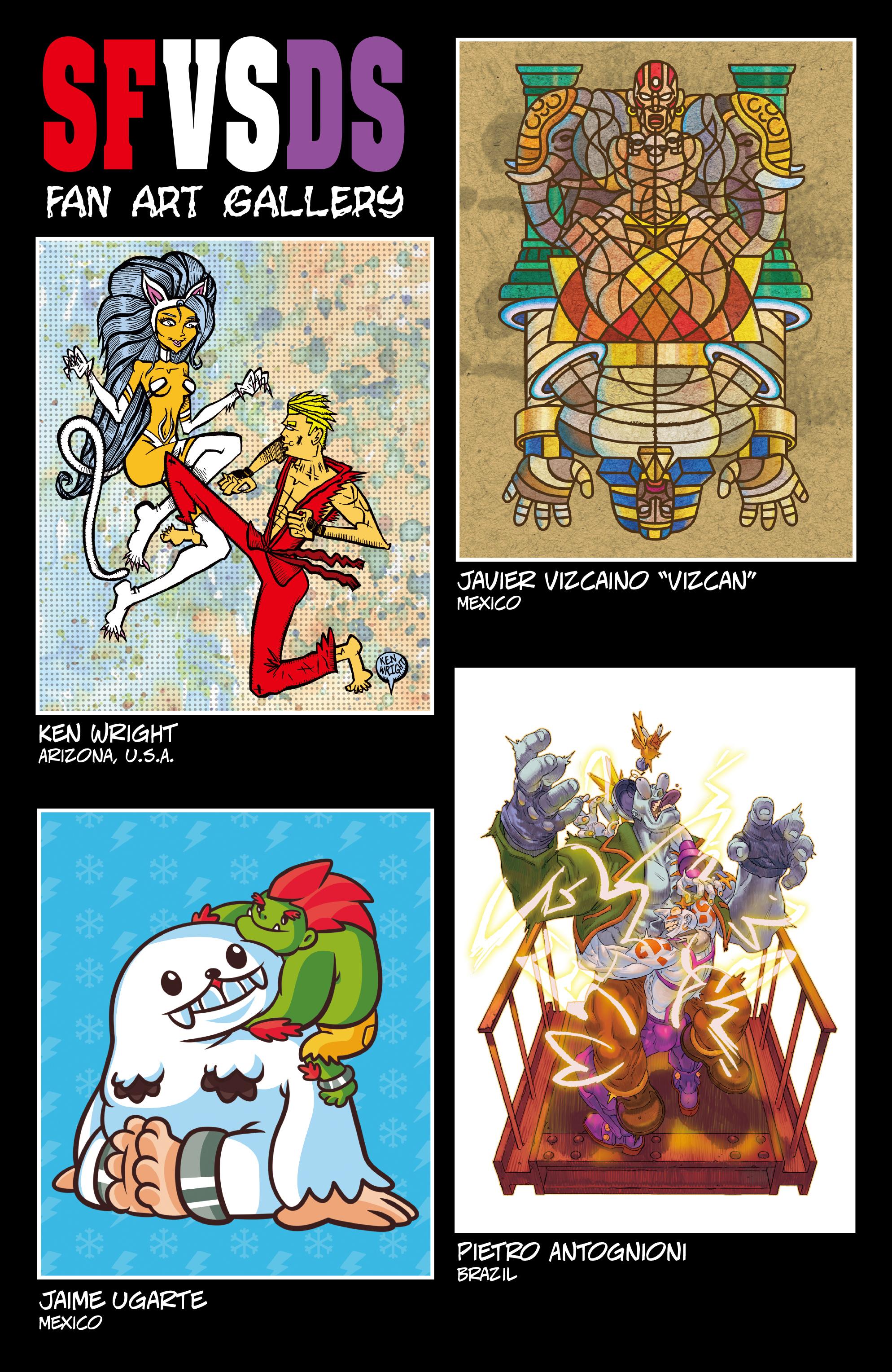 Read online Street Fighter VS Darkstalkers comic -  Issue #2 - 26