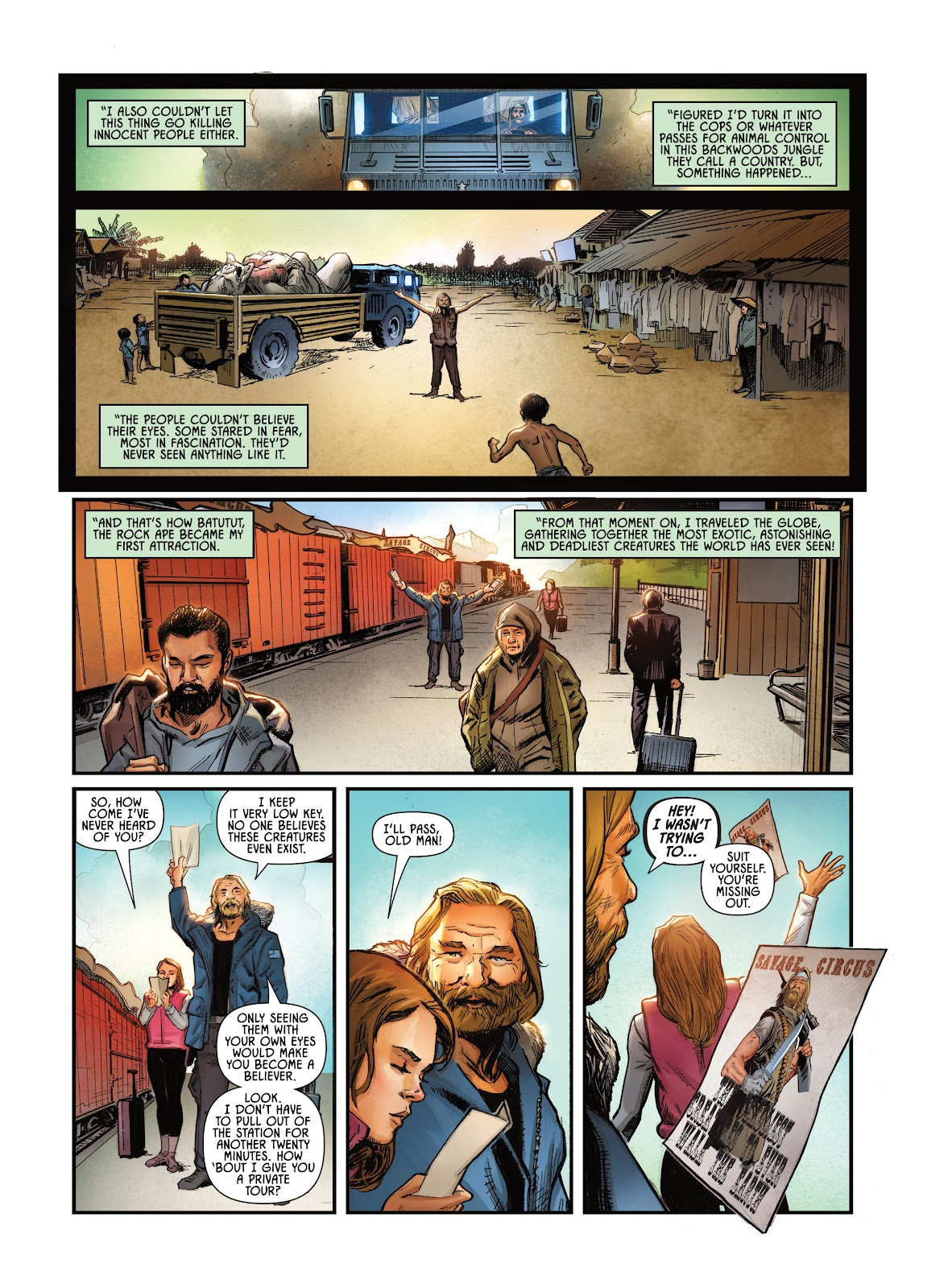 Savage Circus issue 1 - Page 7