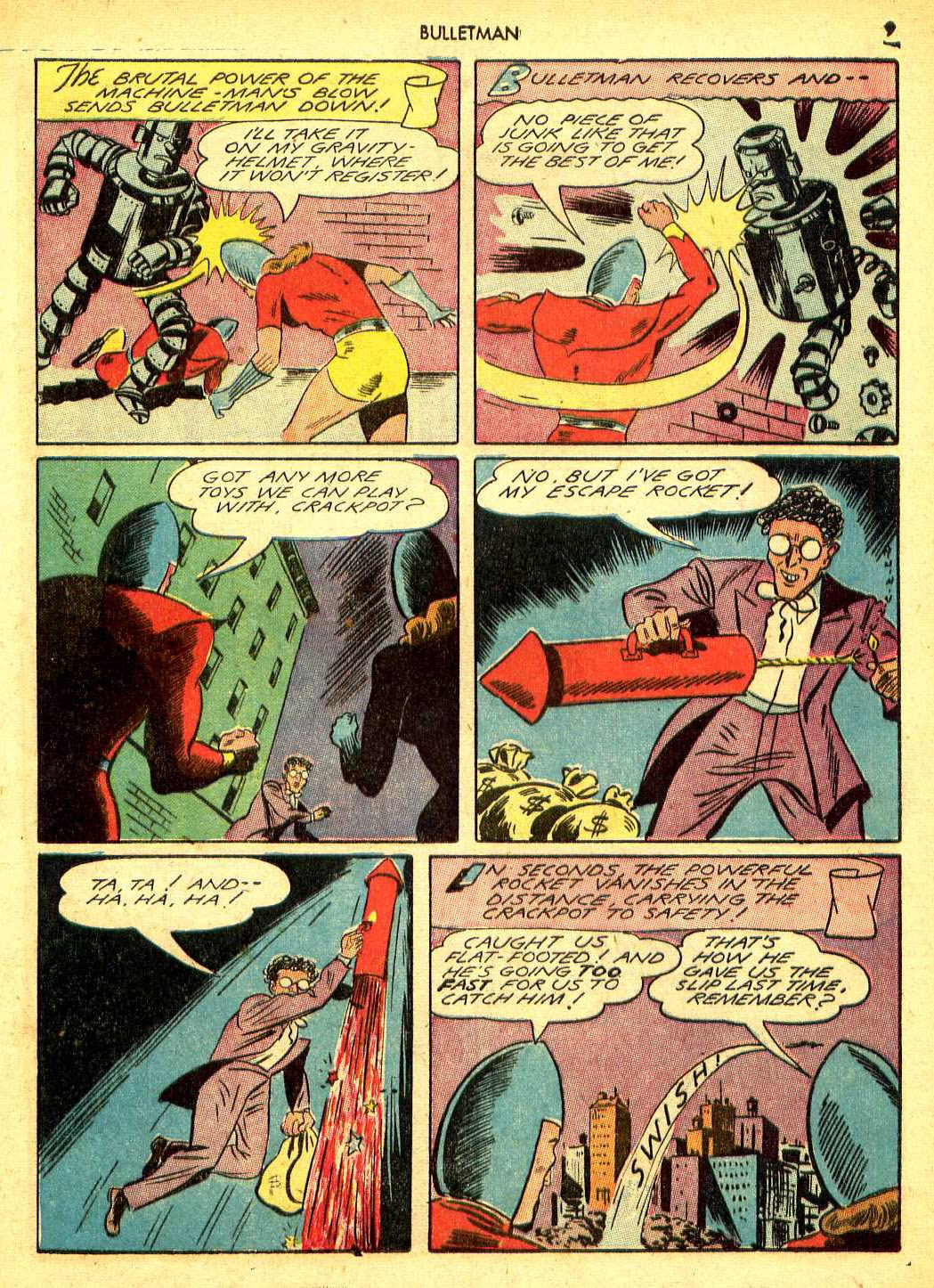 Bulletman issue 12 - Page 8