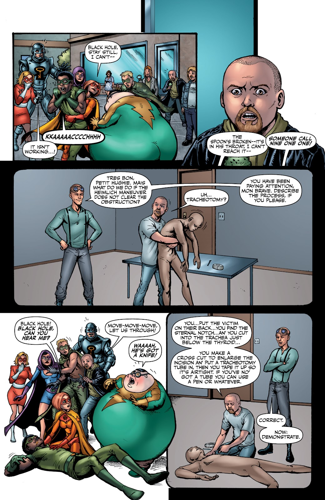 Read online The Boys Omnibus comic -  Issue # TPB 4 (Part 1) - 72