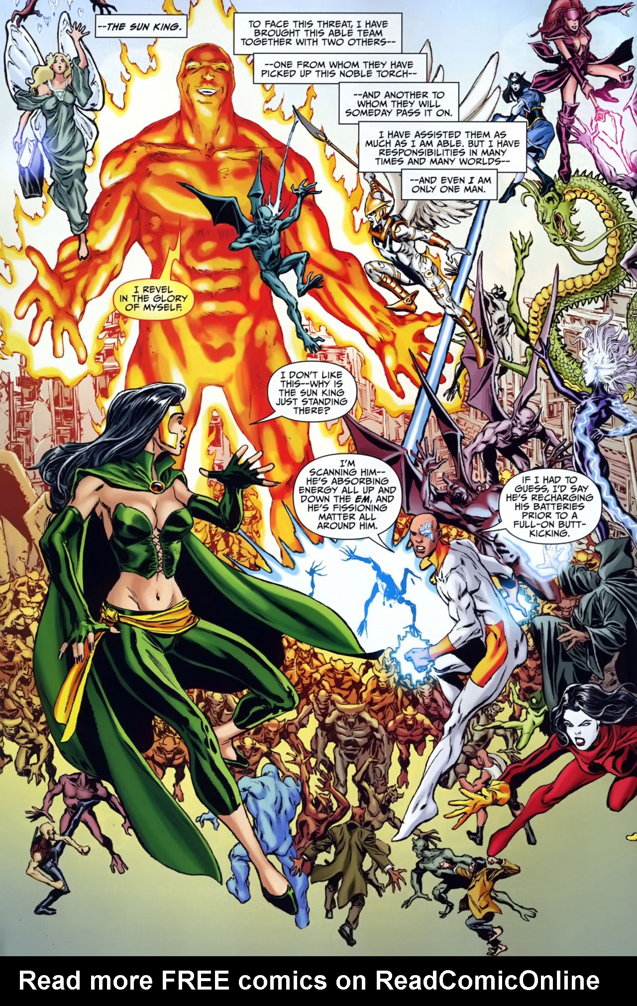 Read online Shadowpact comic -  Issue #25 - 3
