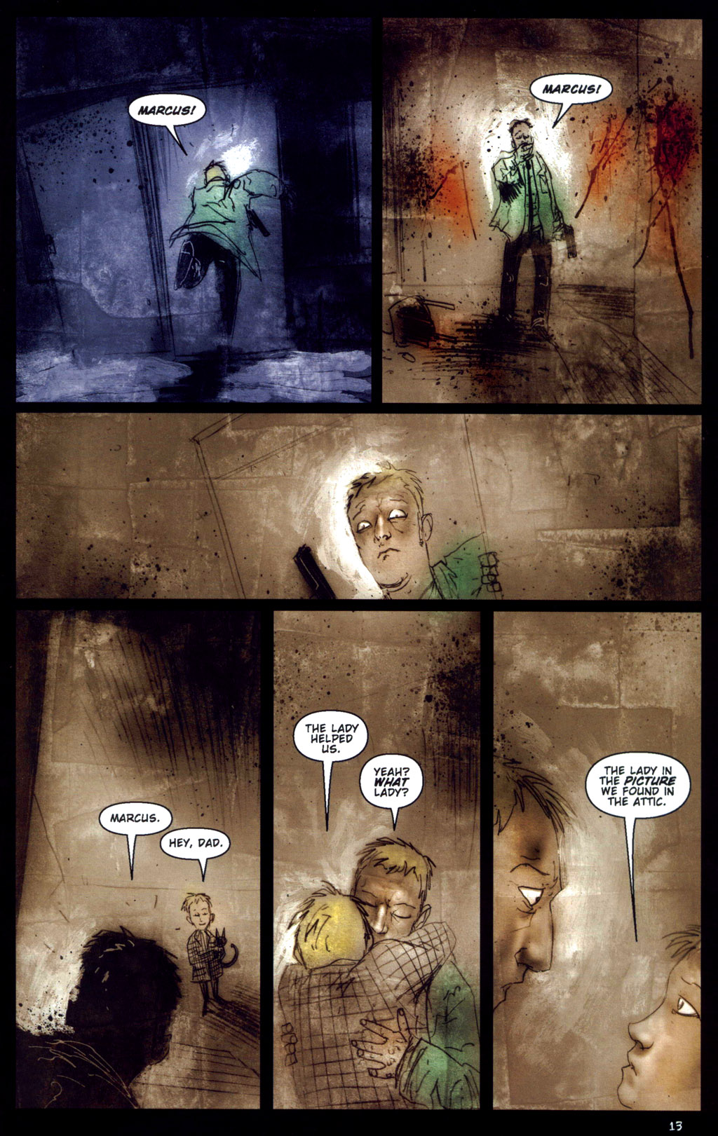 Read online 30 Days of Night: Return to Barrow comic -  Issue #6 - 15