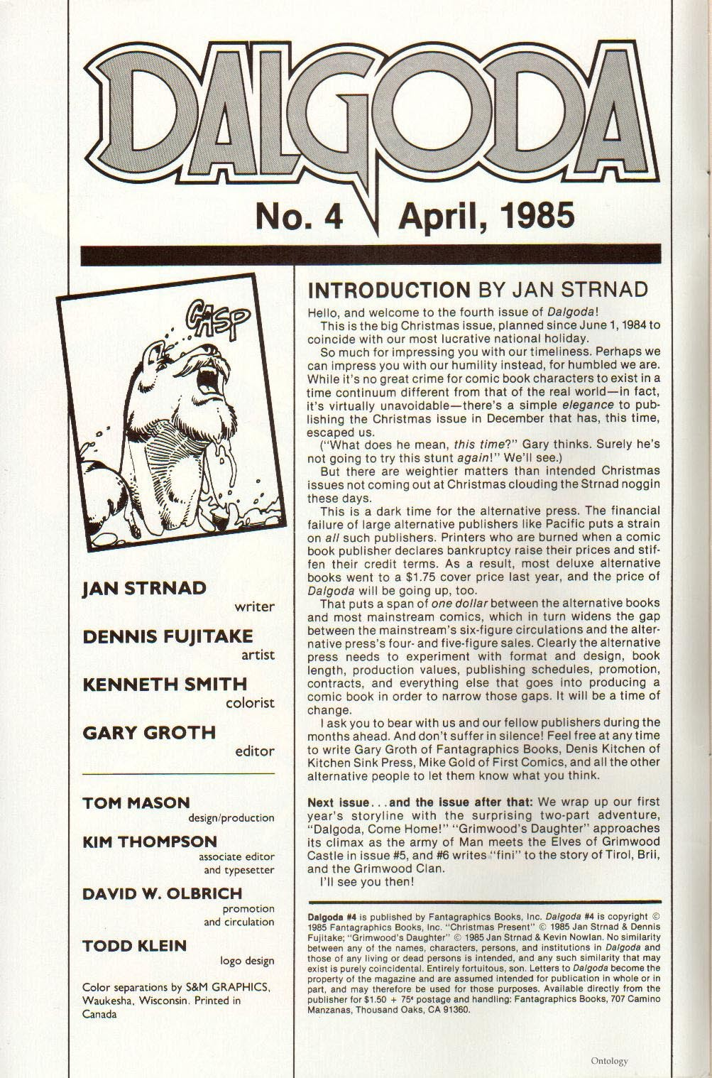 Read online Dalgoda comic -  Issue #4 - 2
