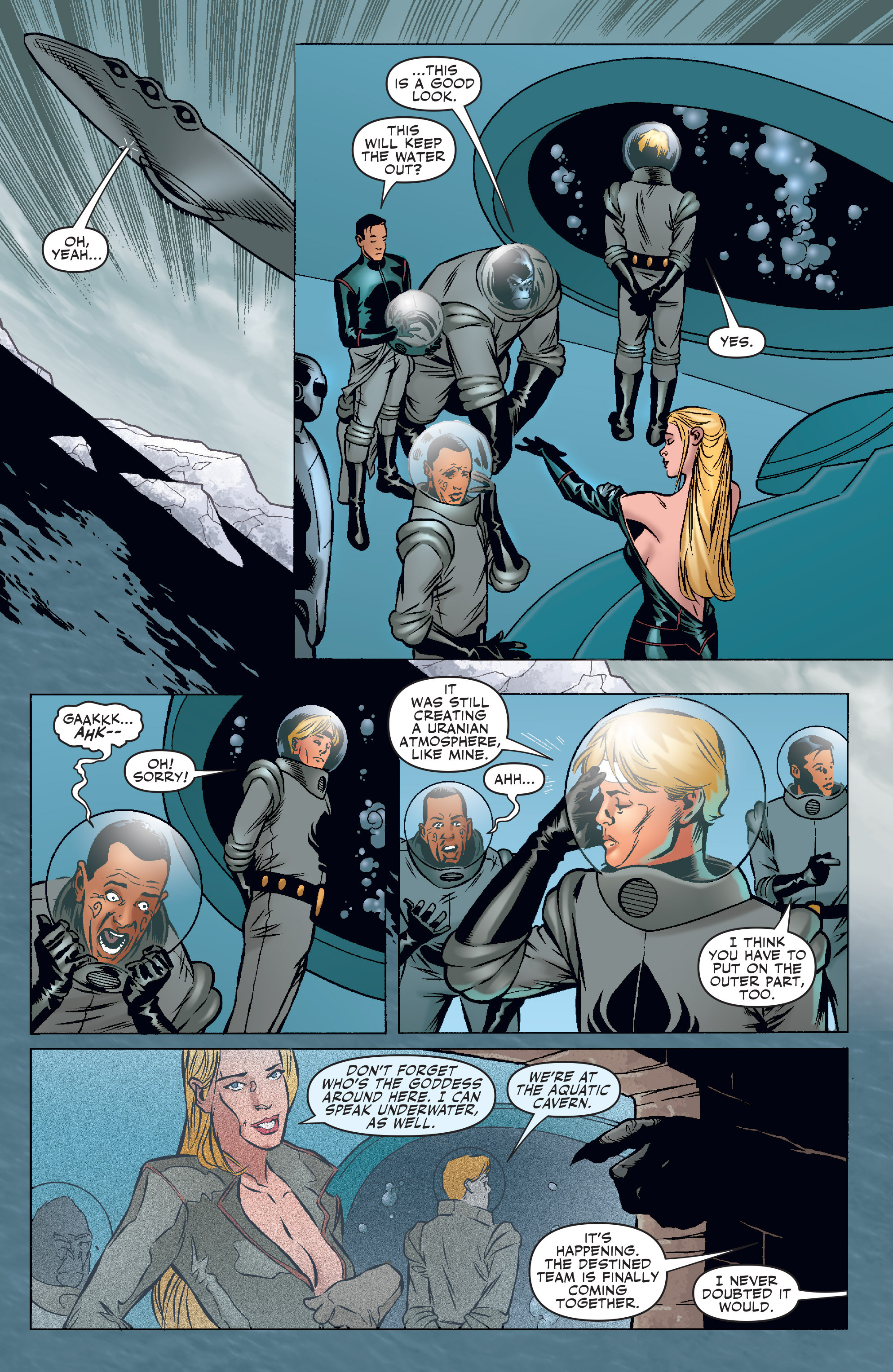 Read online Agents Of Atlas (2006) comic -  Issue #3 - 22