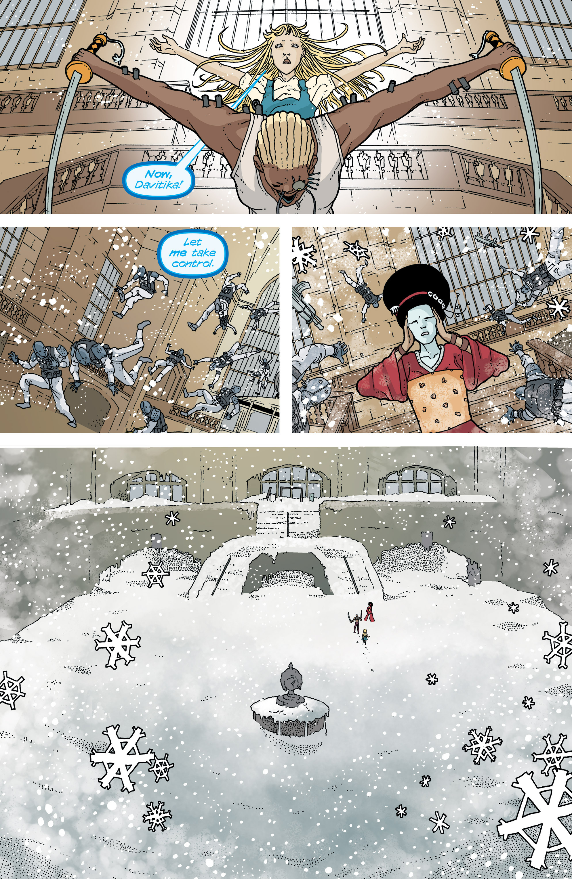 Read online Snowfall comic -  Issue #7 - 18