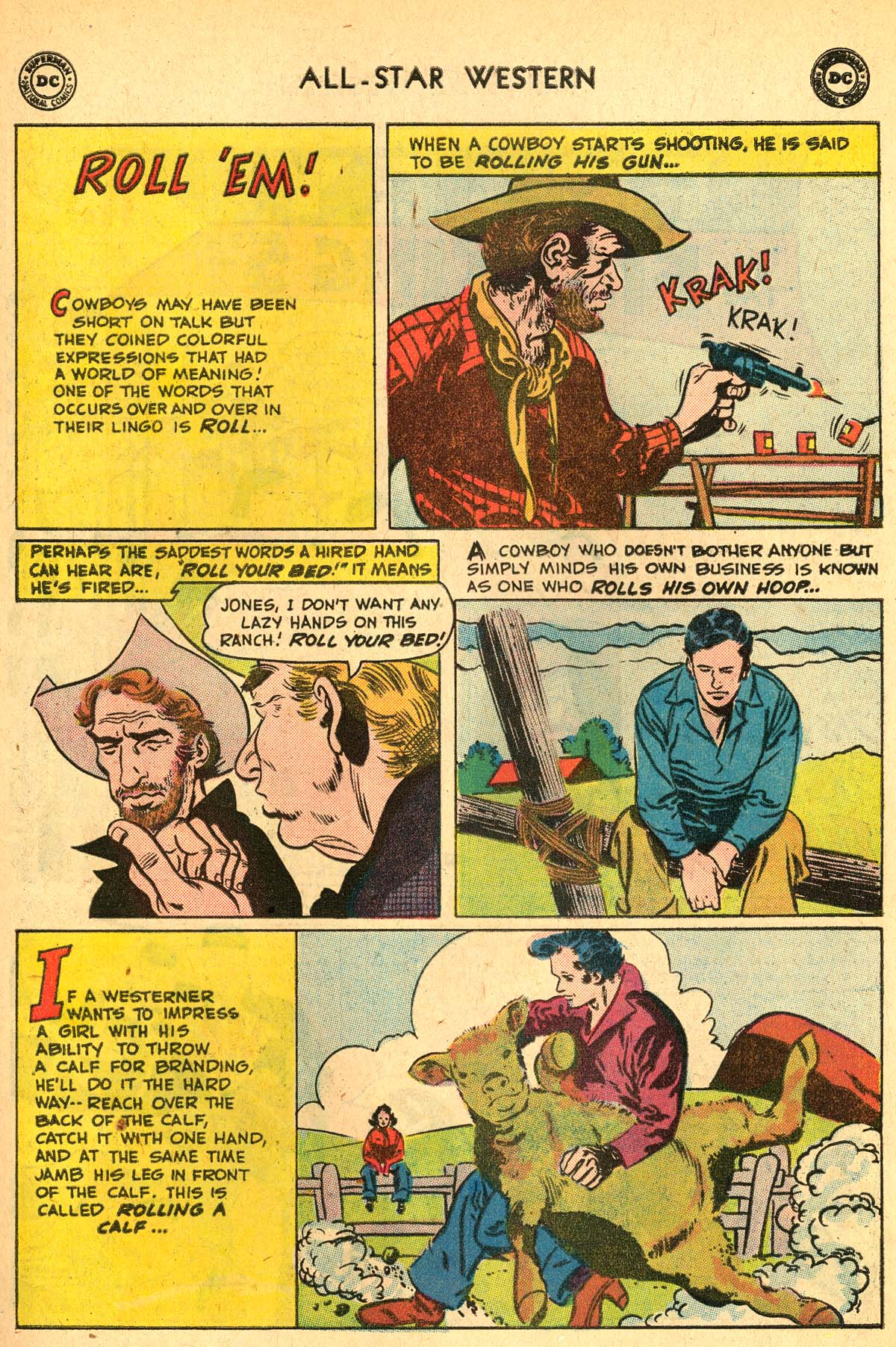 Read online All-Star Western (1951) comic -  Issue #115 - 15