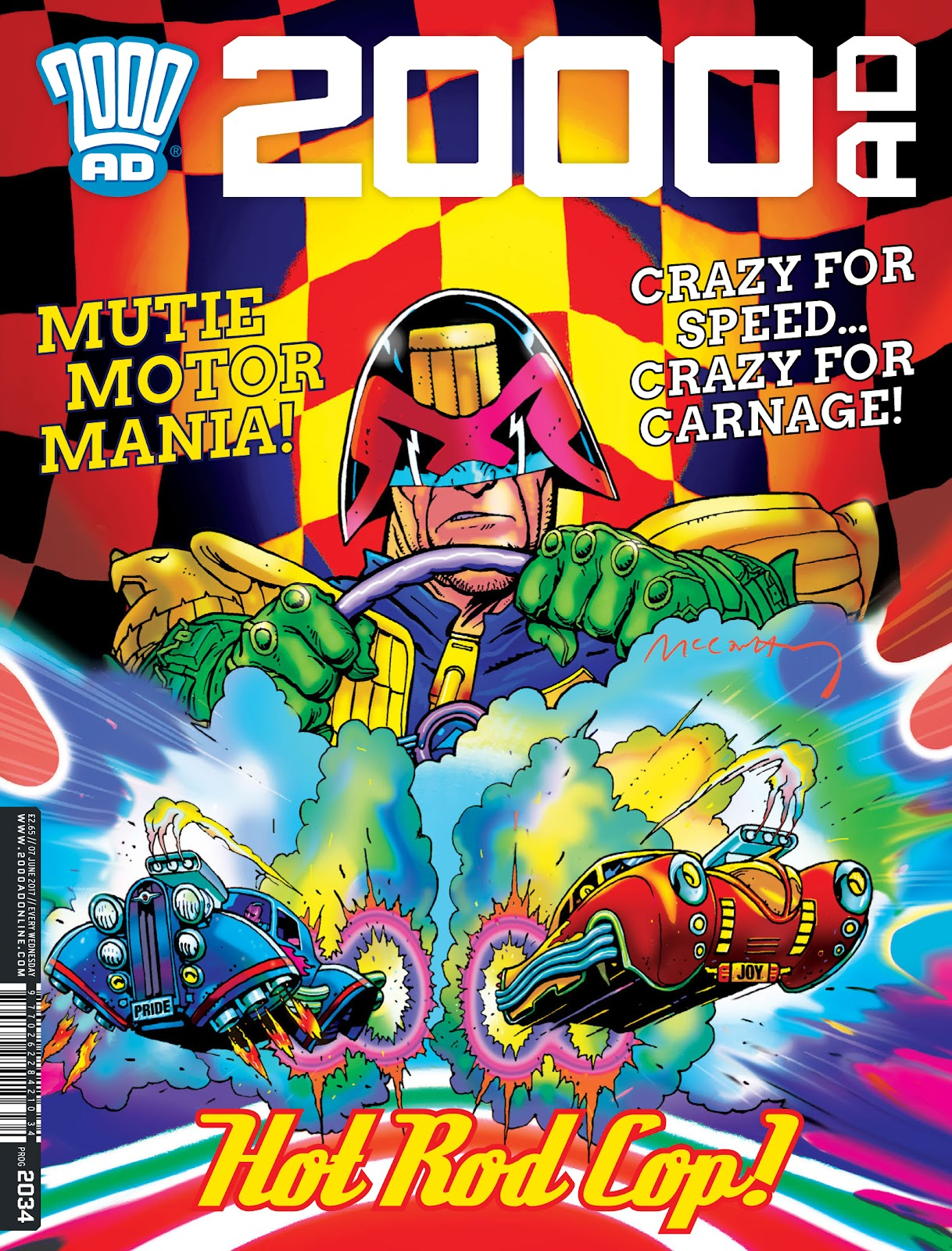 2000 AD issue 2034 - Page 1