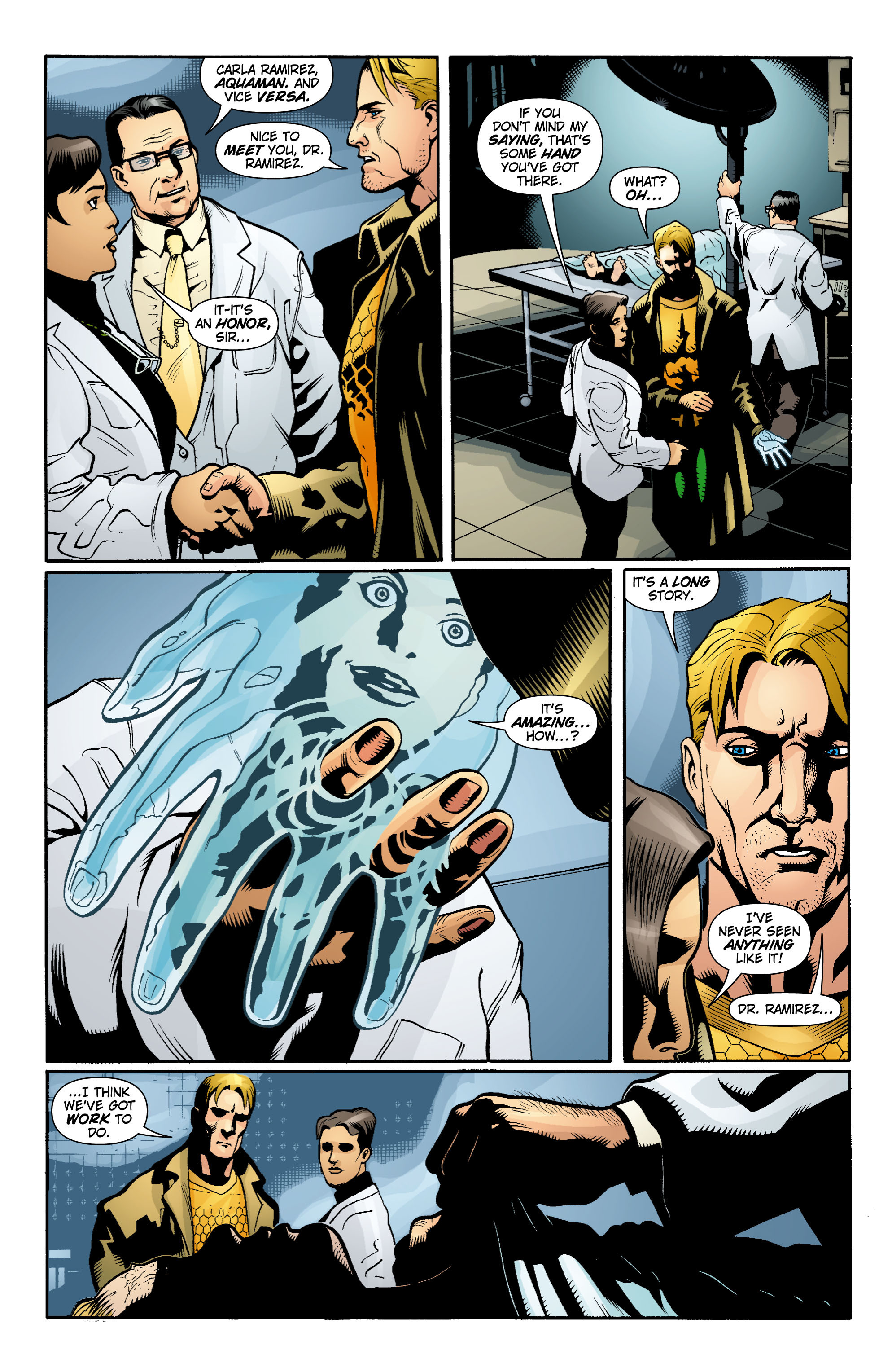 Read online Aquaman (2003) comic -  Issue #15 - 18