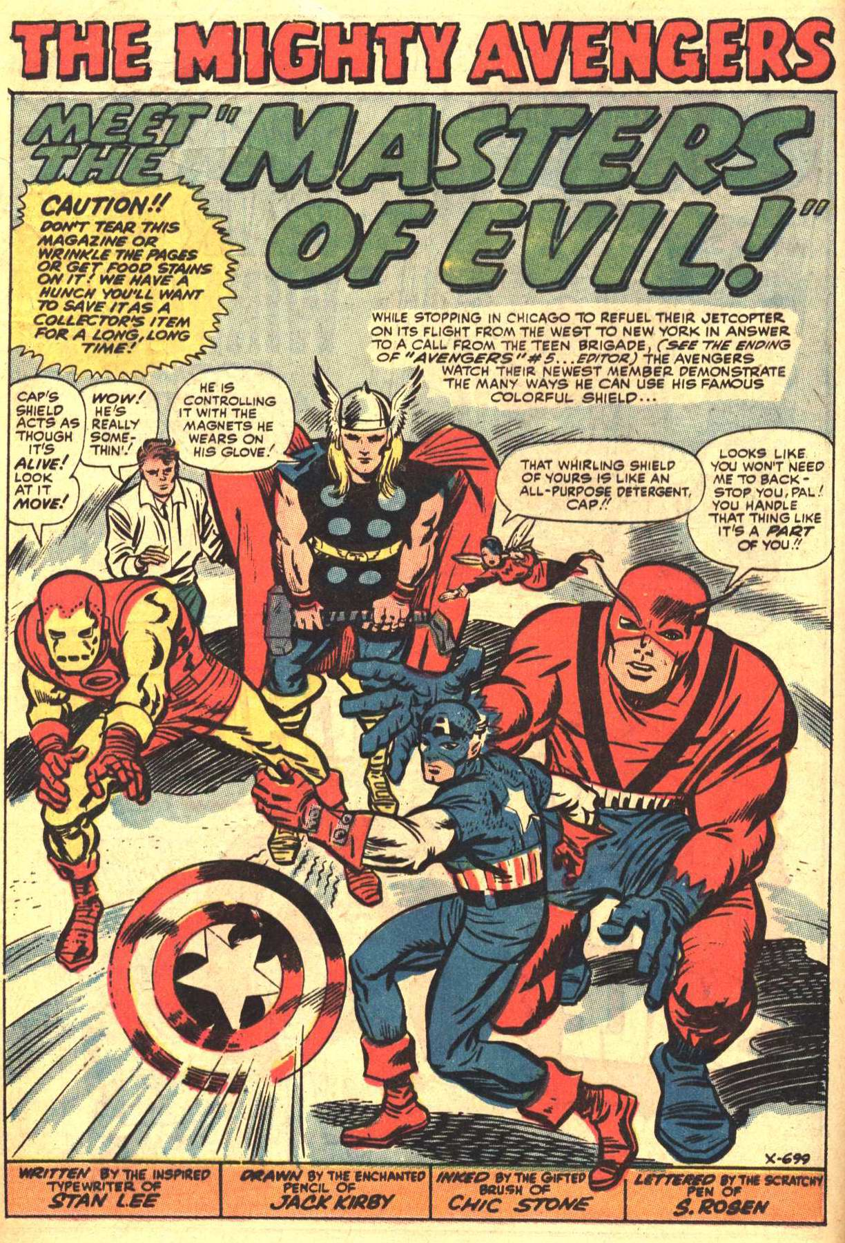 The Avengers (1963) 6 Page 1