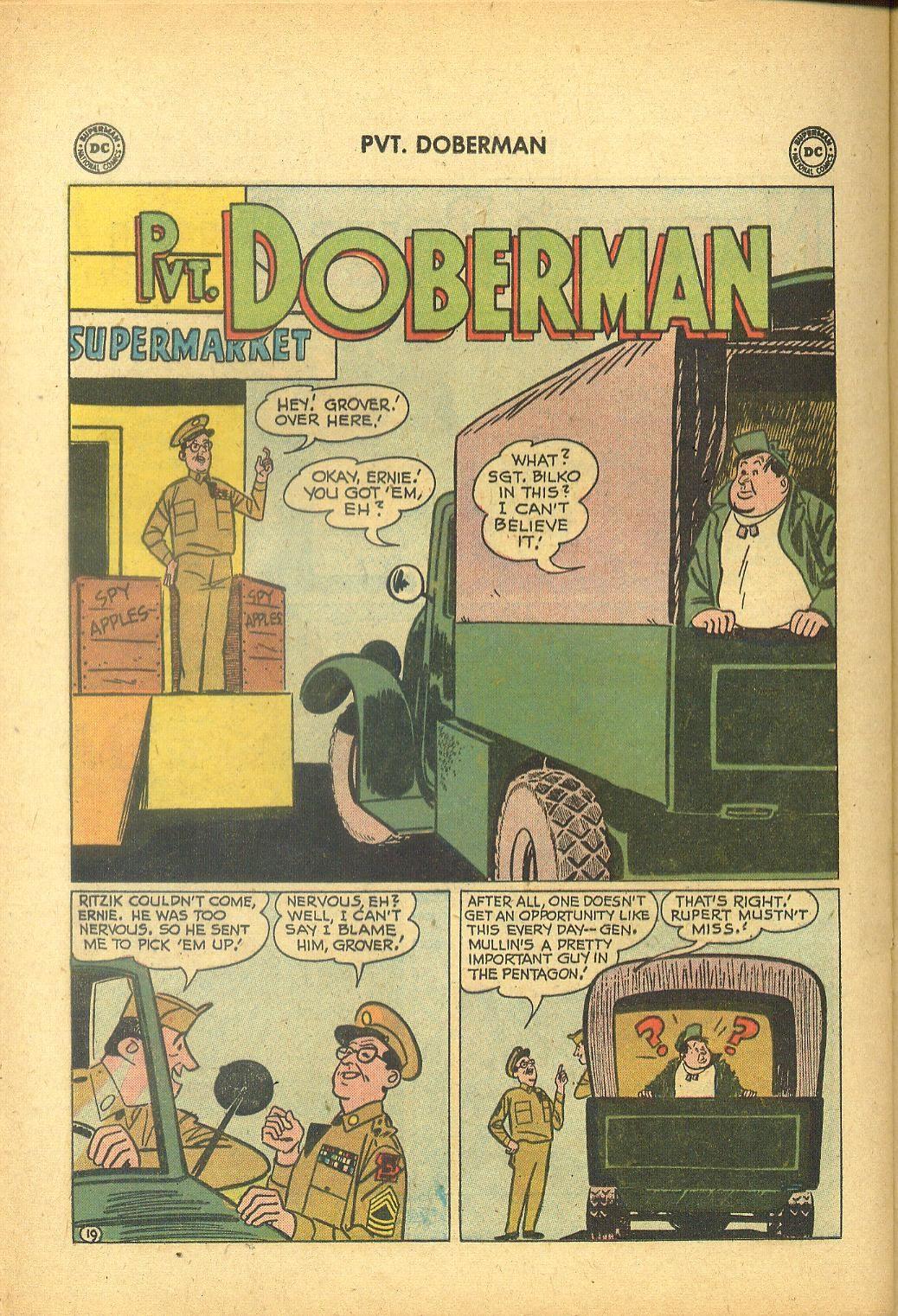 Sgt. Bilko's Pvt. Doberman issue 1 - Page 24