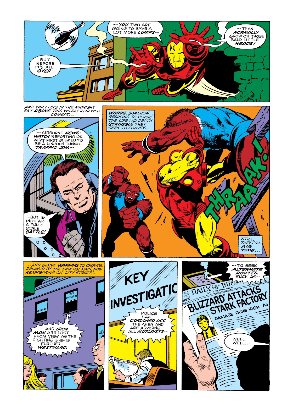 Read online Marvel Masterworks: The Invincible Iron Man comic -  Issue # TPB 11 (Part 2) - 70