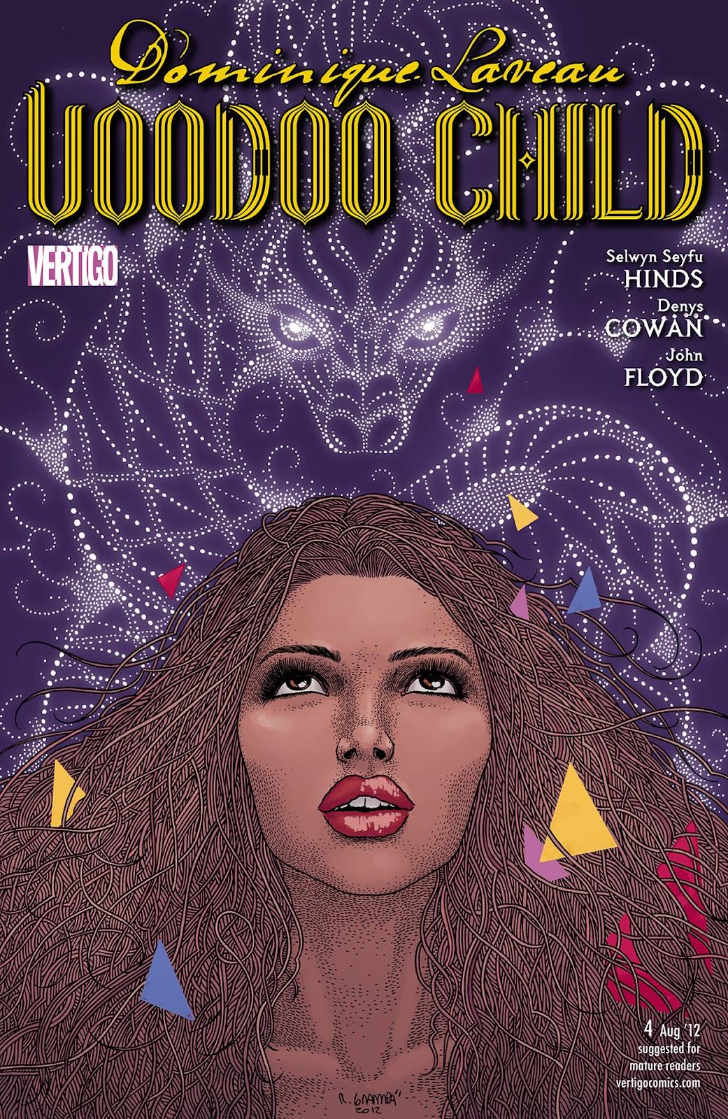 Dominique Laveau: Voodoo Child 4 Page 1