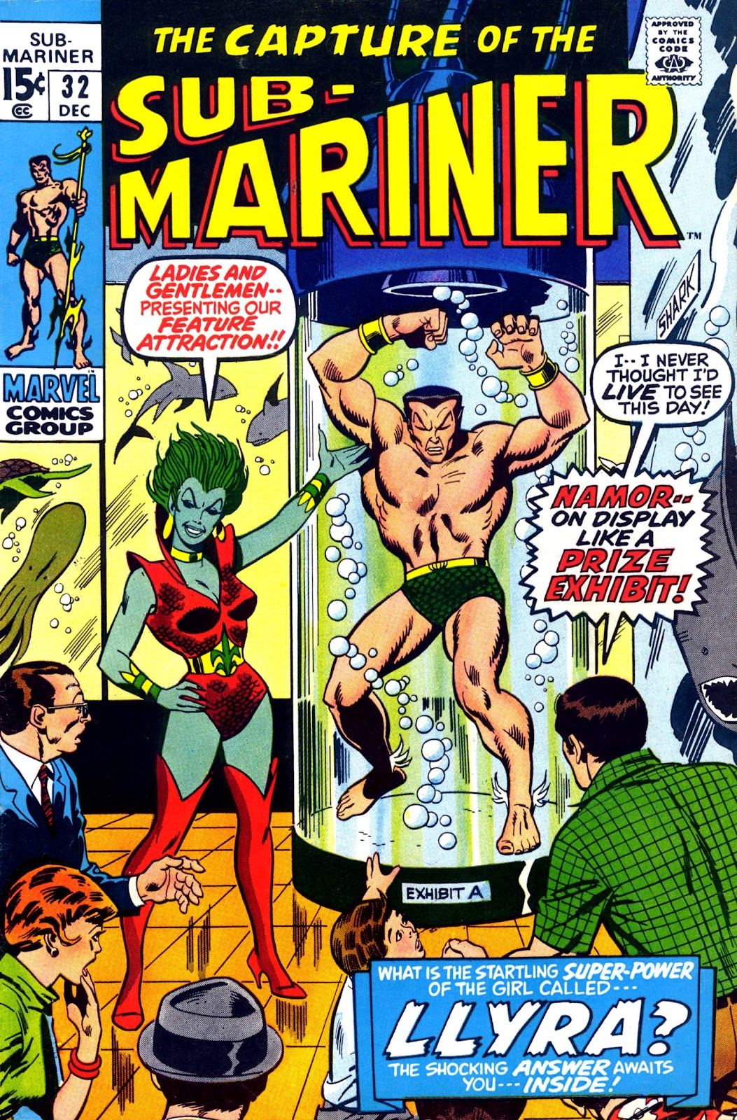 The Sub-Mariner 32 Page 1