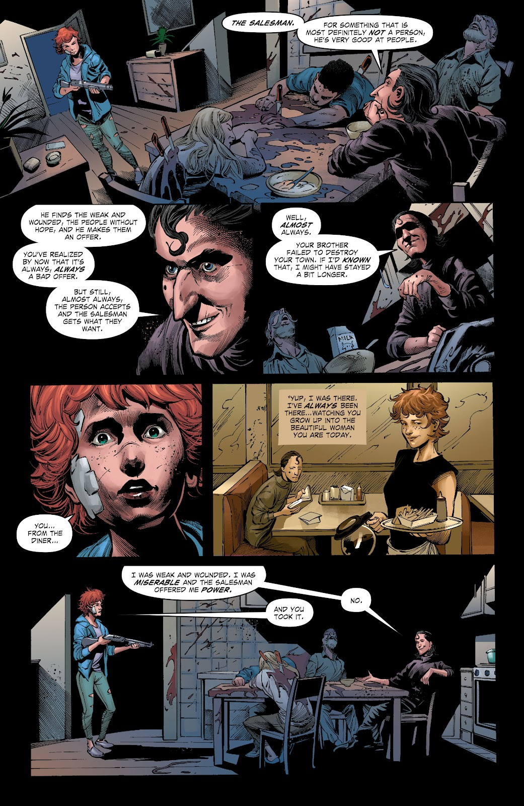 Read online The Curse of Brimstone: Ashes comic -  Issue # TPB (Part 2) - 15